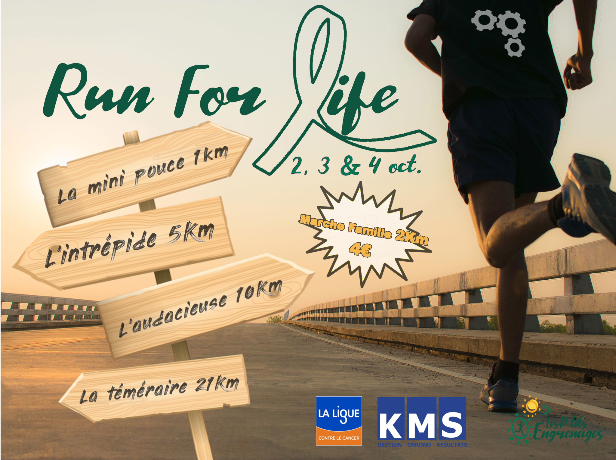 Affiche RUN FOR LIFE