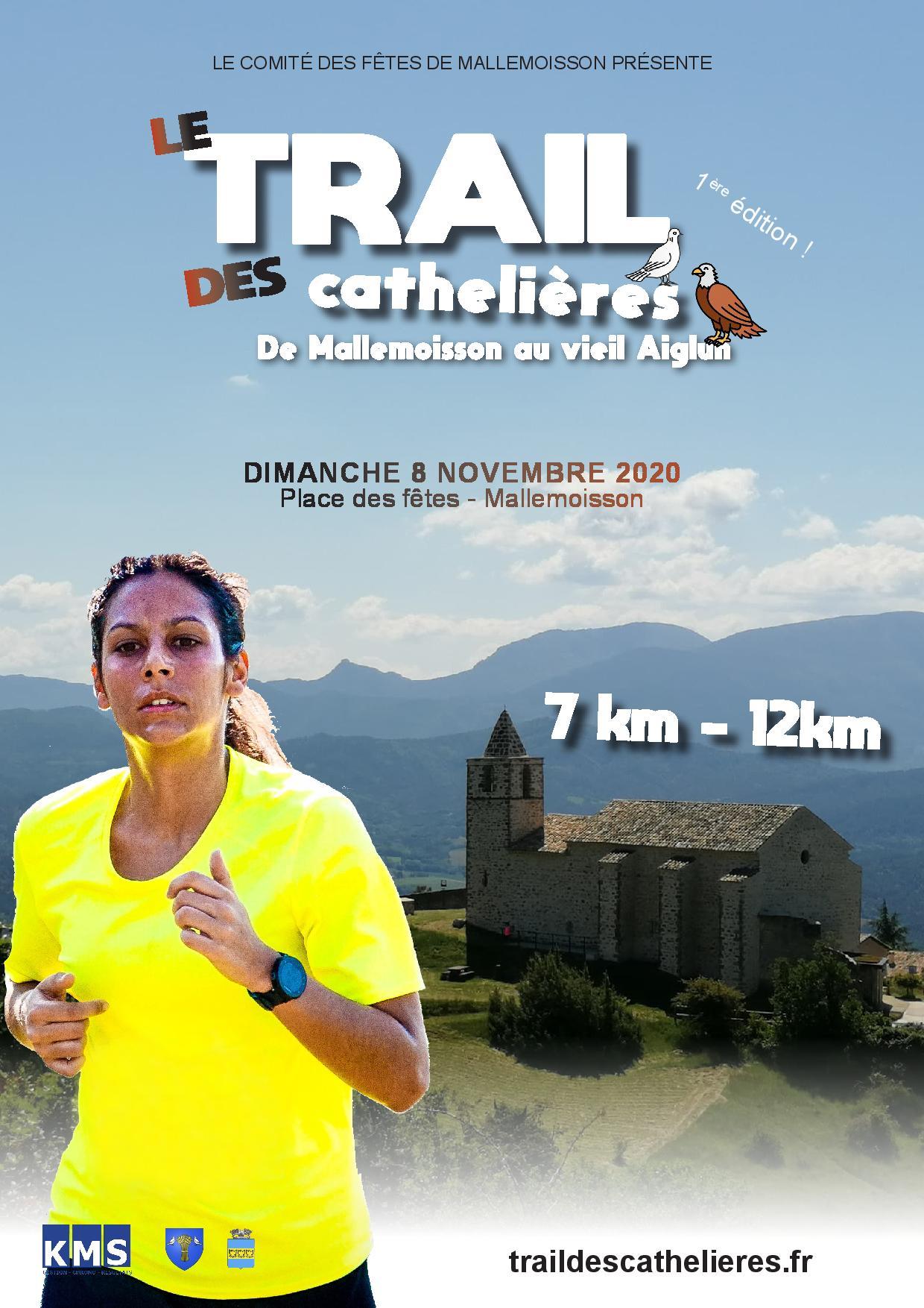 Affiche TRAIL DES CATHELIERES