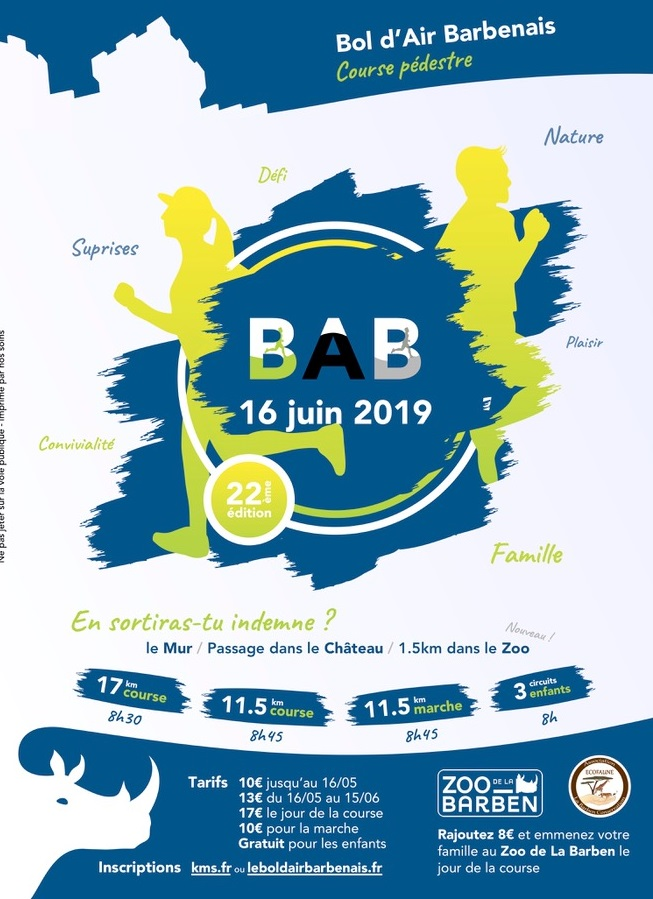Bol d'air Barbenais : Course enfant 800m
