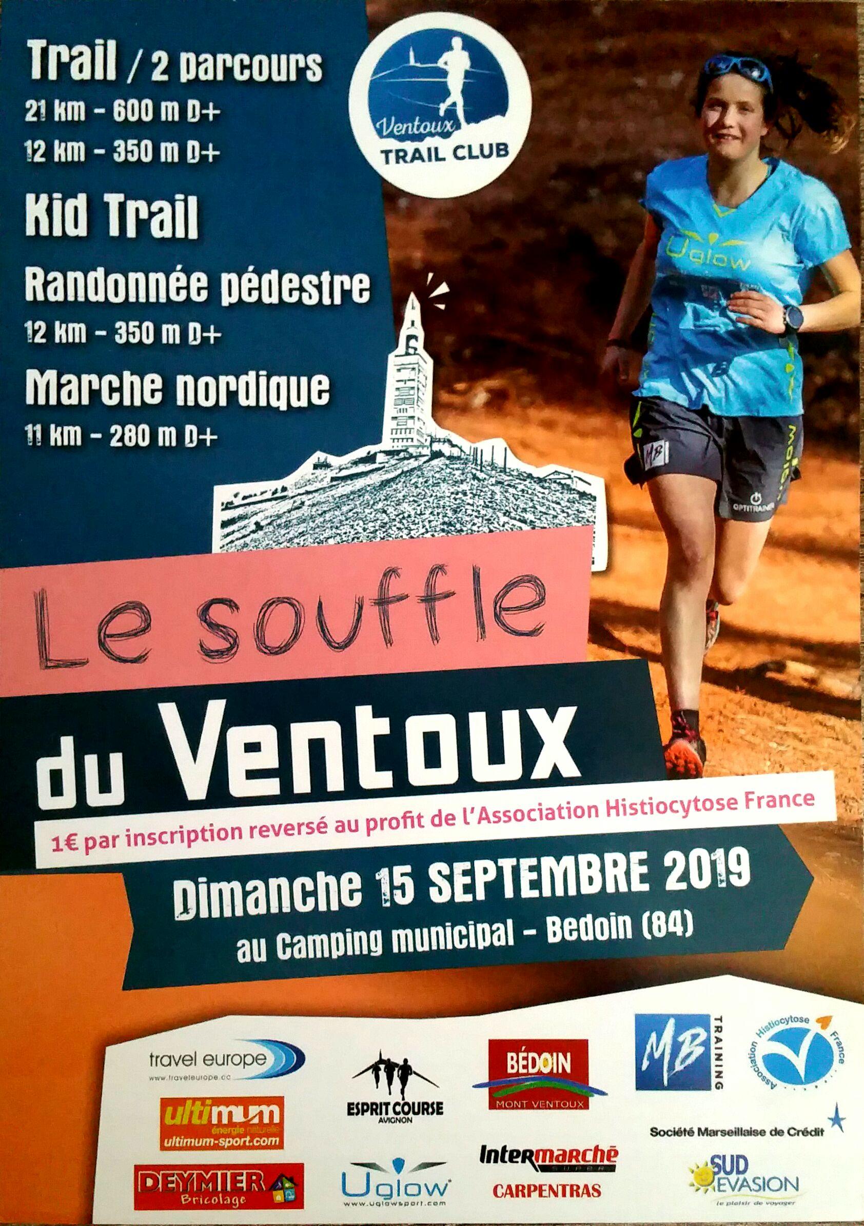 Souffle du Ventoux - Marche nordique 11km