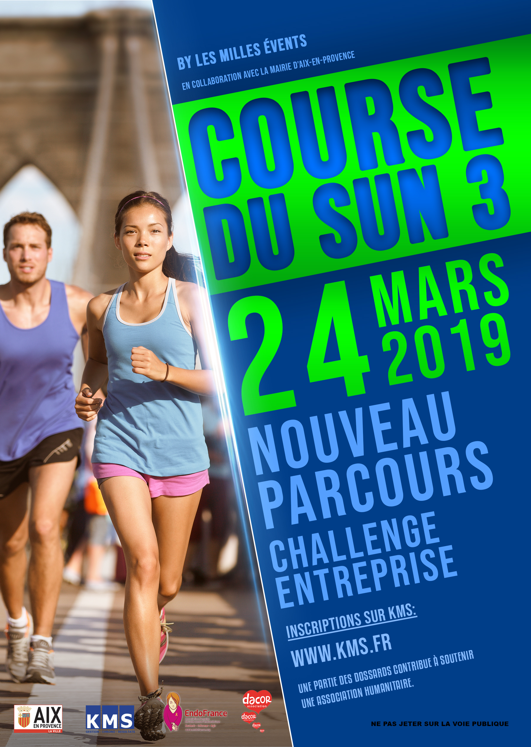Affiche La course du Sun