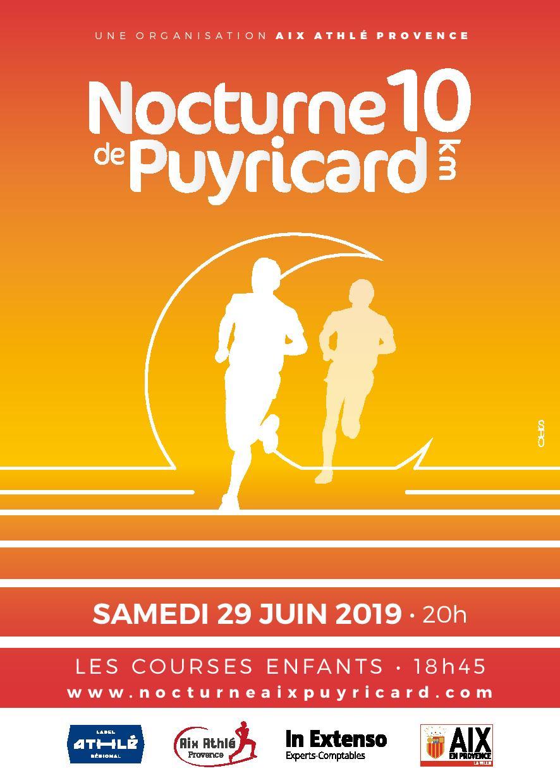 Nocturne de Puyricard - 10 km