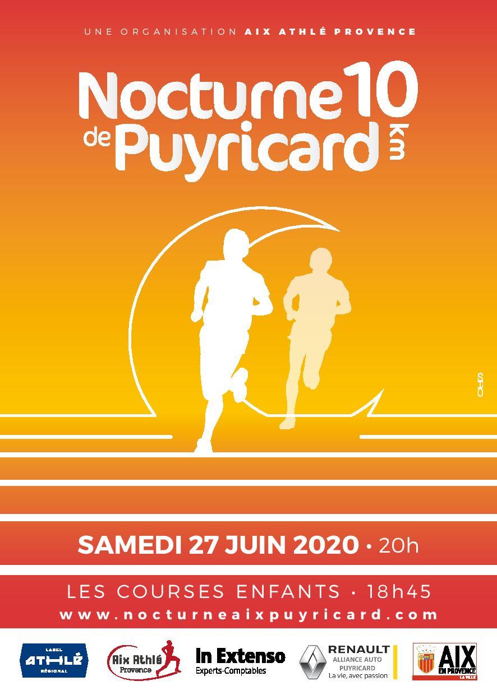 Affiche NOCTURNE DE PUYRICARD