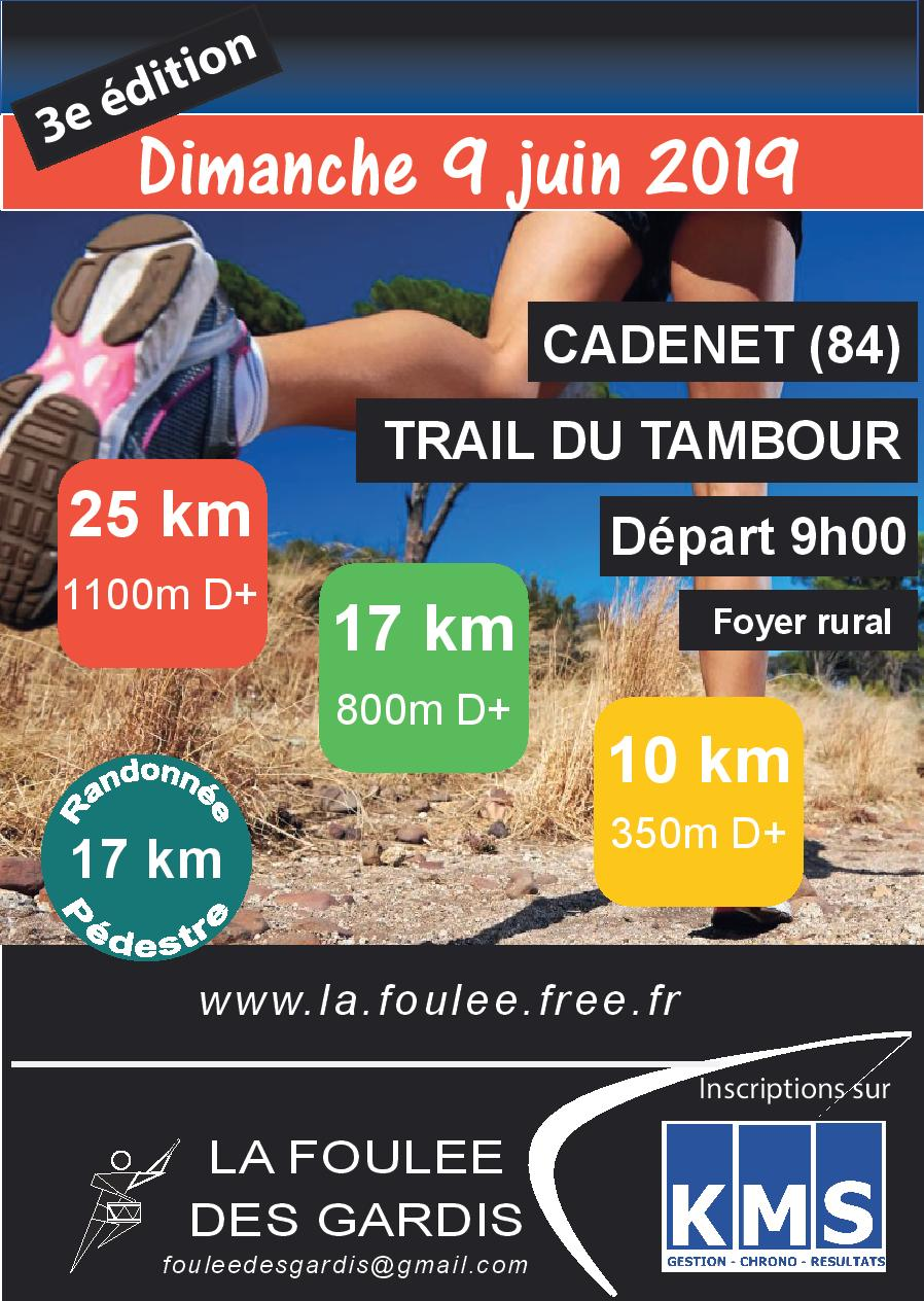 3ème Trail du Tambour