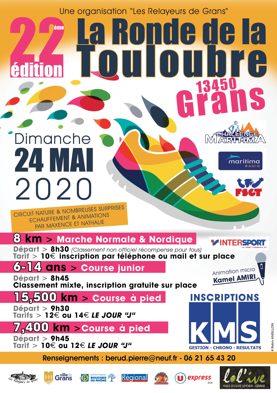 Affiche RONDE DE LA TOULOUBRE