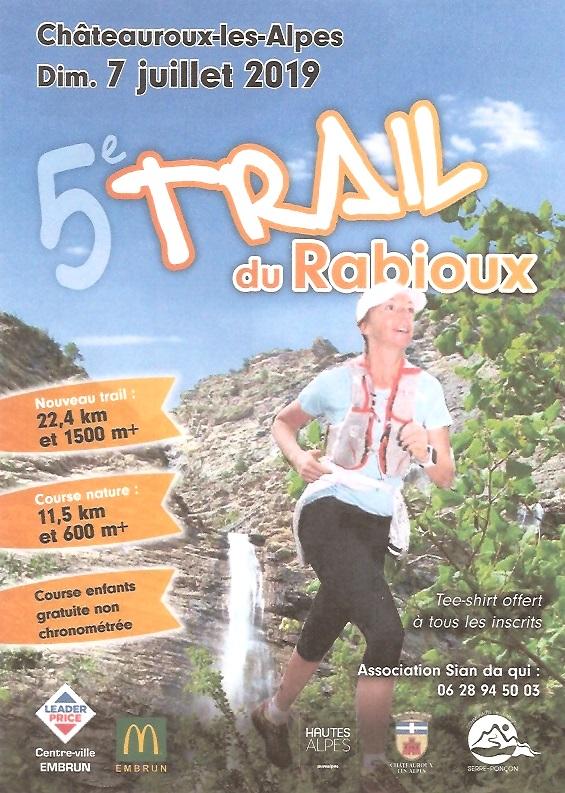 Trail du Rabioux - Course Nature 11.5 km