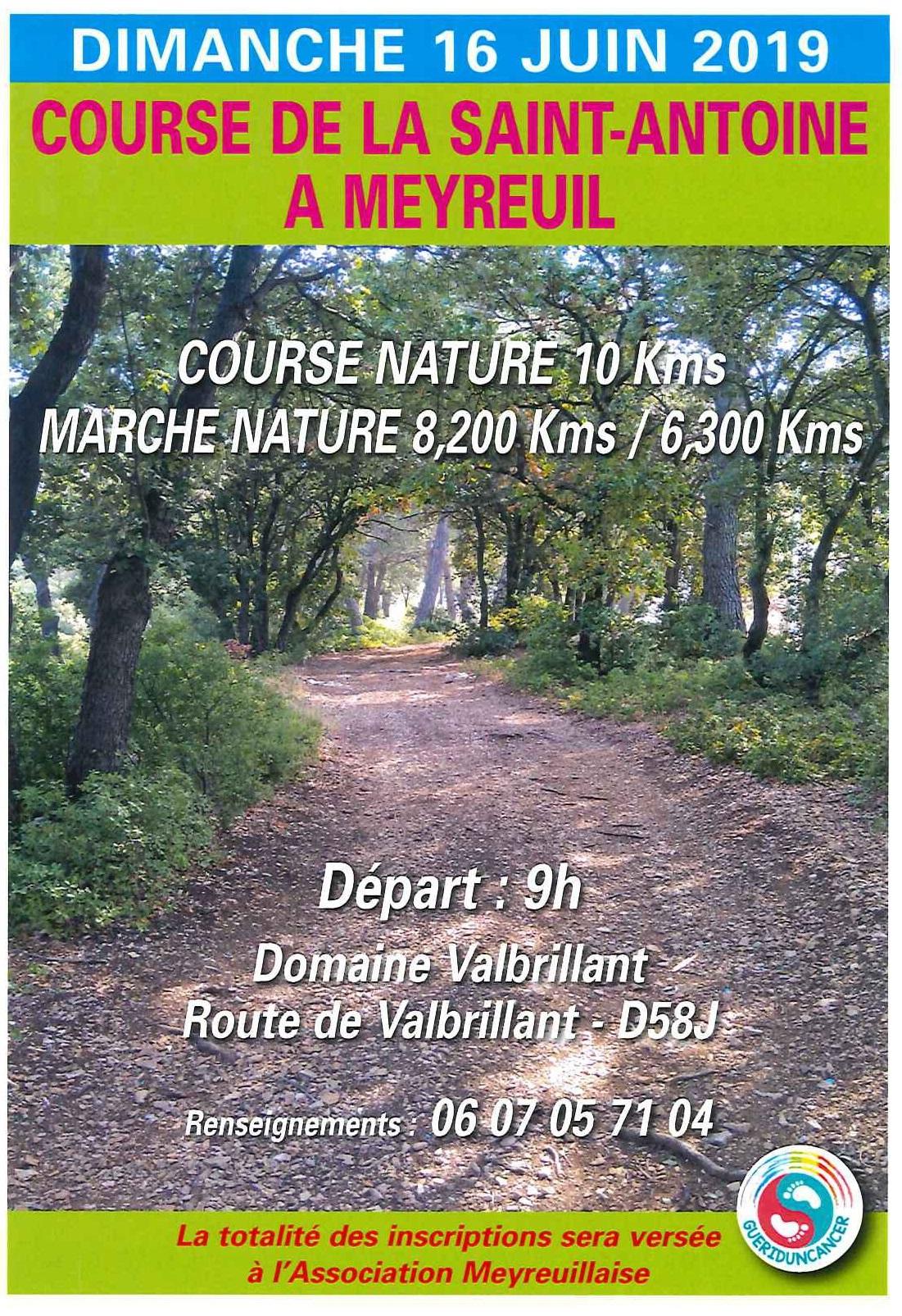 Marche 6.3 km Saint Antoine