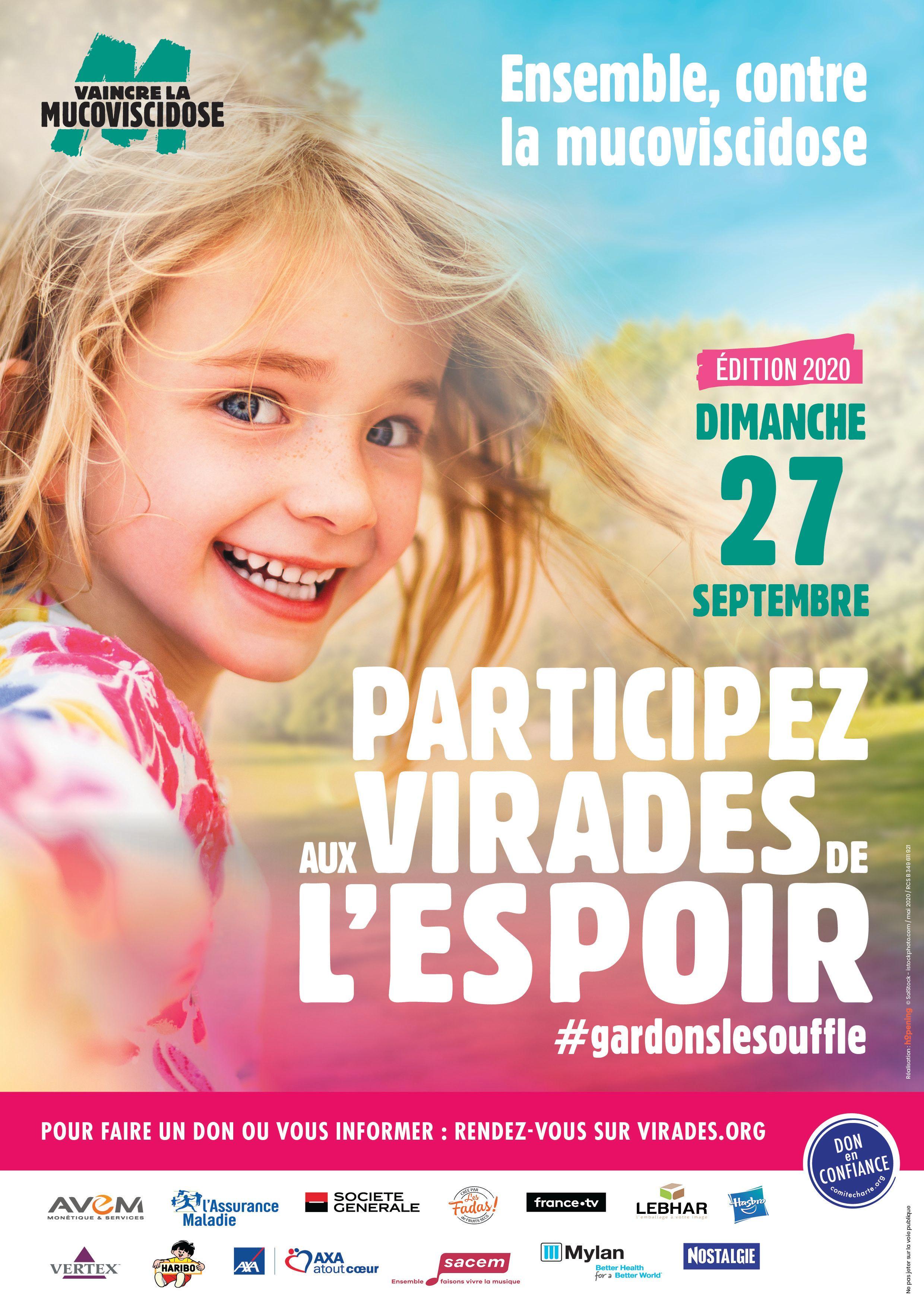 Affiche Course du Souffle de Marseille