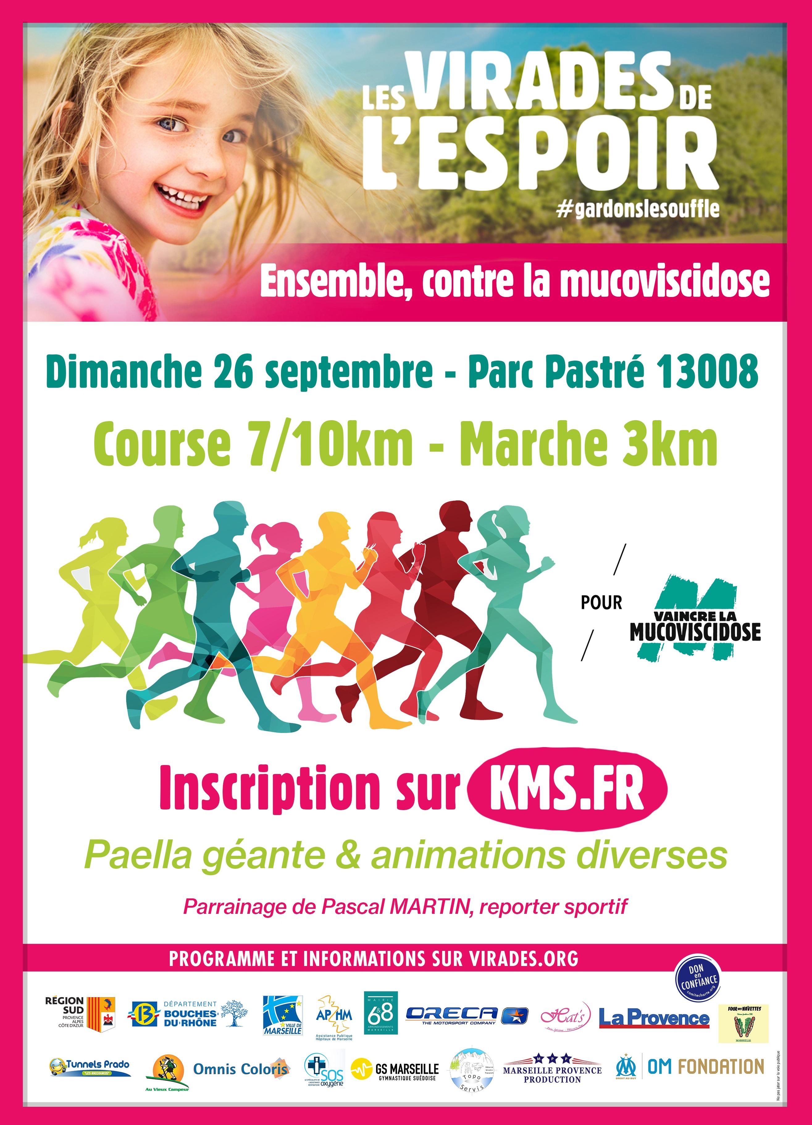 Course du Souffle de Marseille <br> Les virades de l
