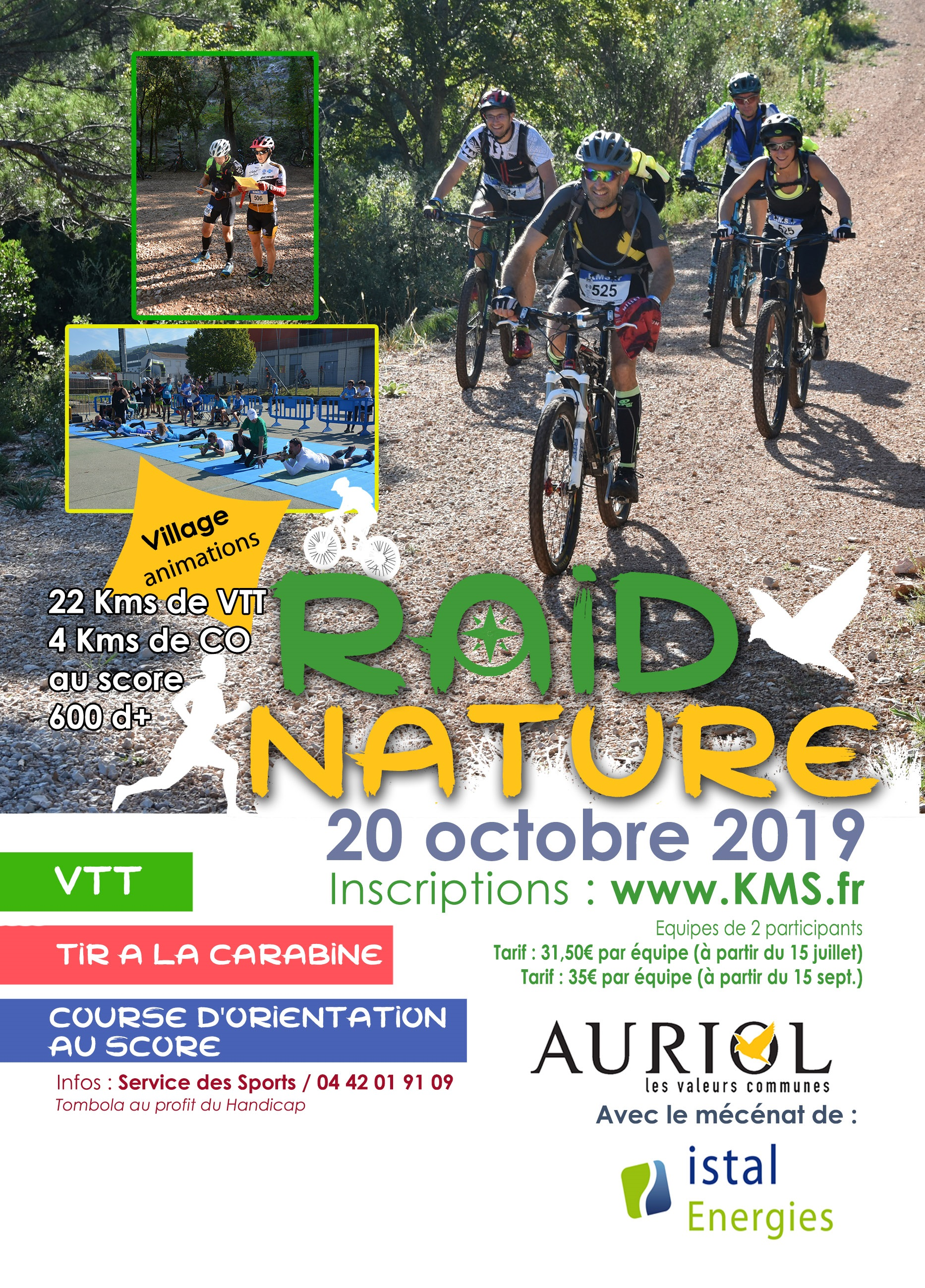 Raid Nature Auriol - Solo enfant (de 8 à 13 ans)