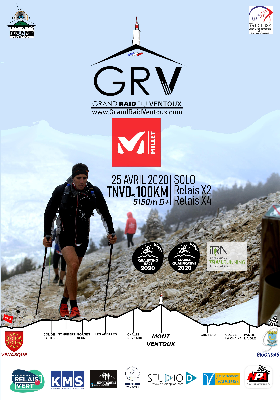 Affiche Grand Raid Ventoux