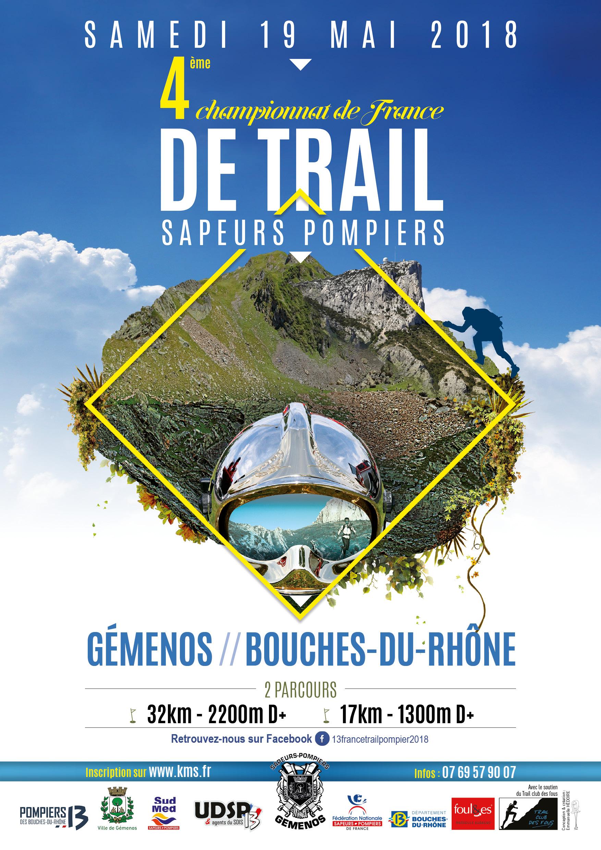 Trail National des Sapeurs Pompiers - 17km