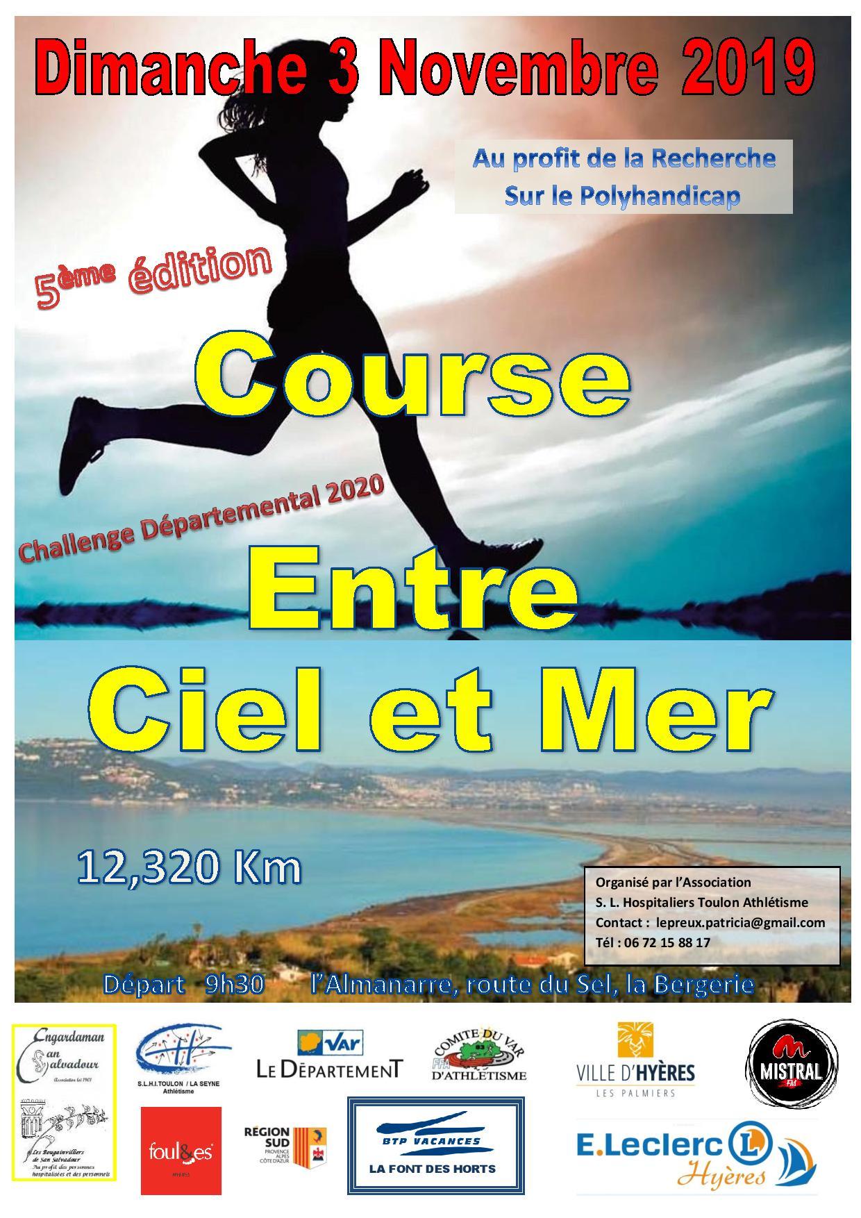 Entre Ciel et Mer 2019 - 12.3km