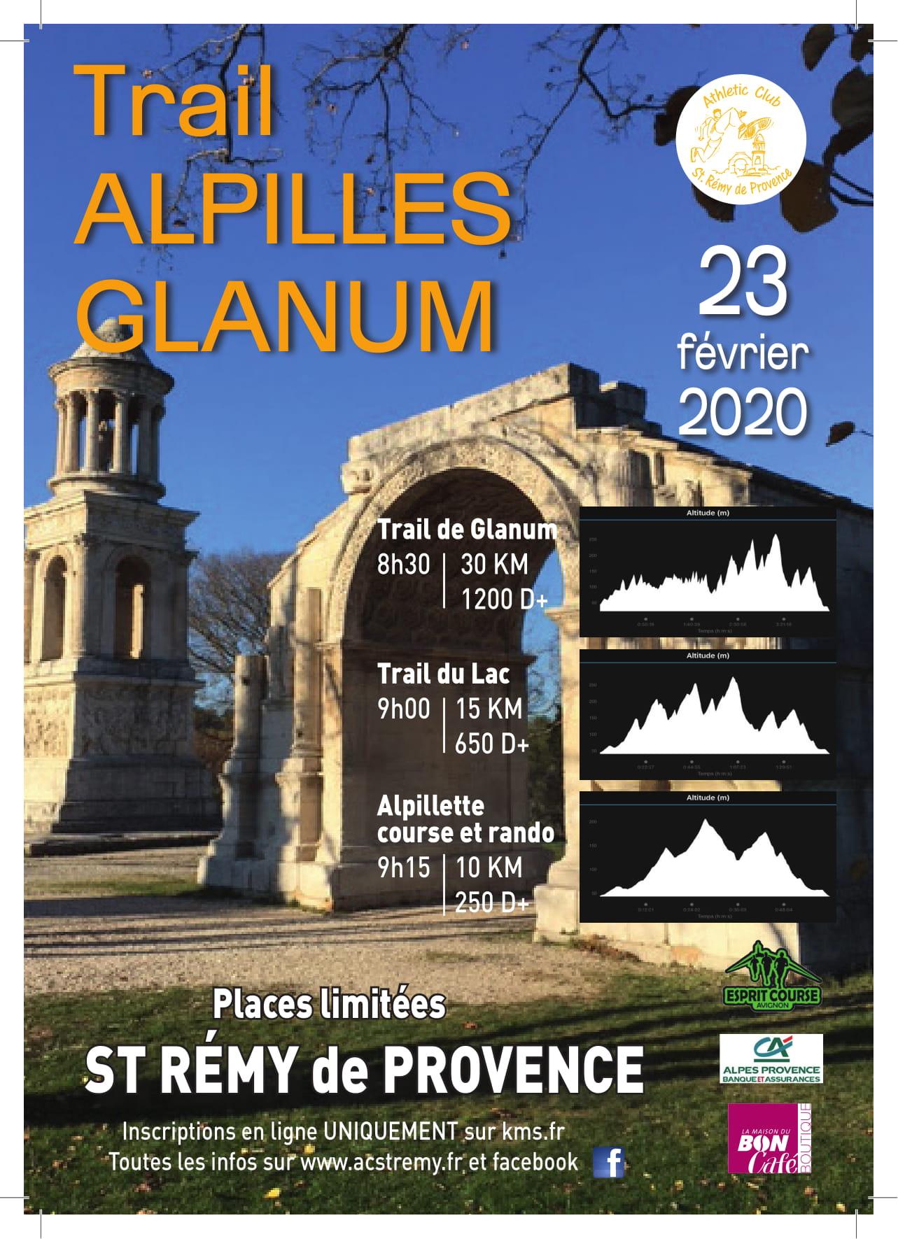 TRAIL DE GLANUM 30 KM