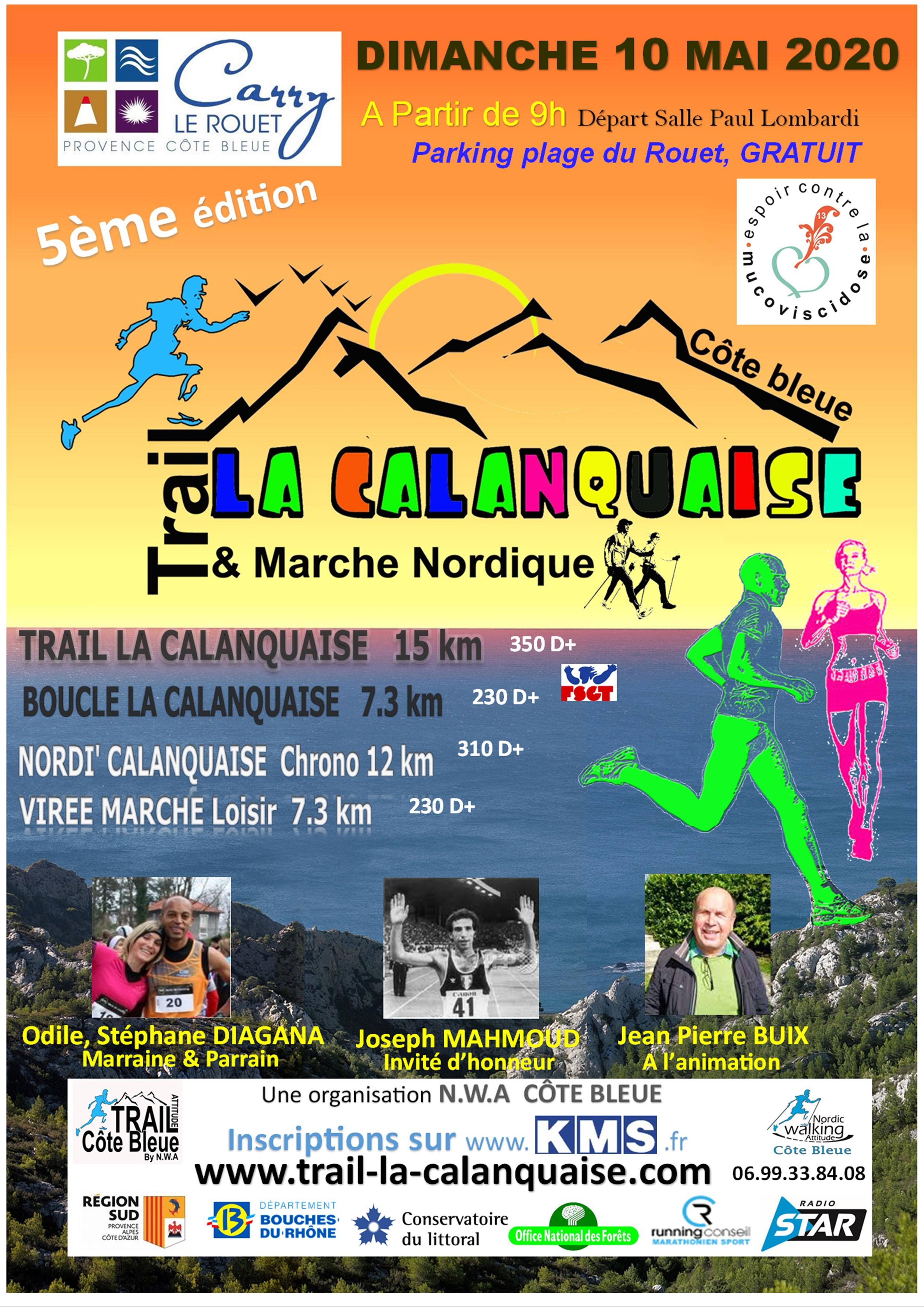La Calanquaise - Trail 15km