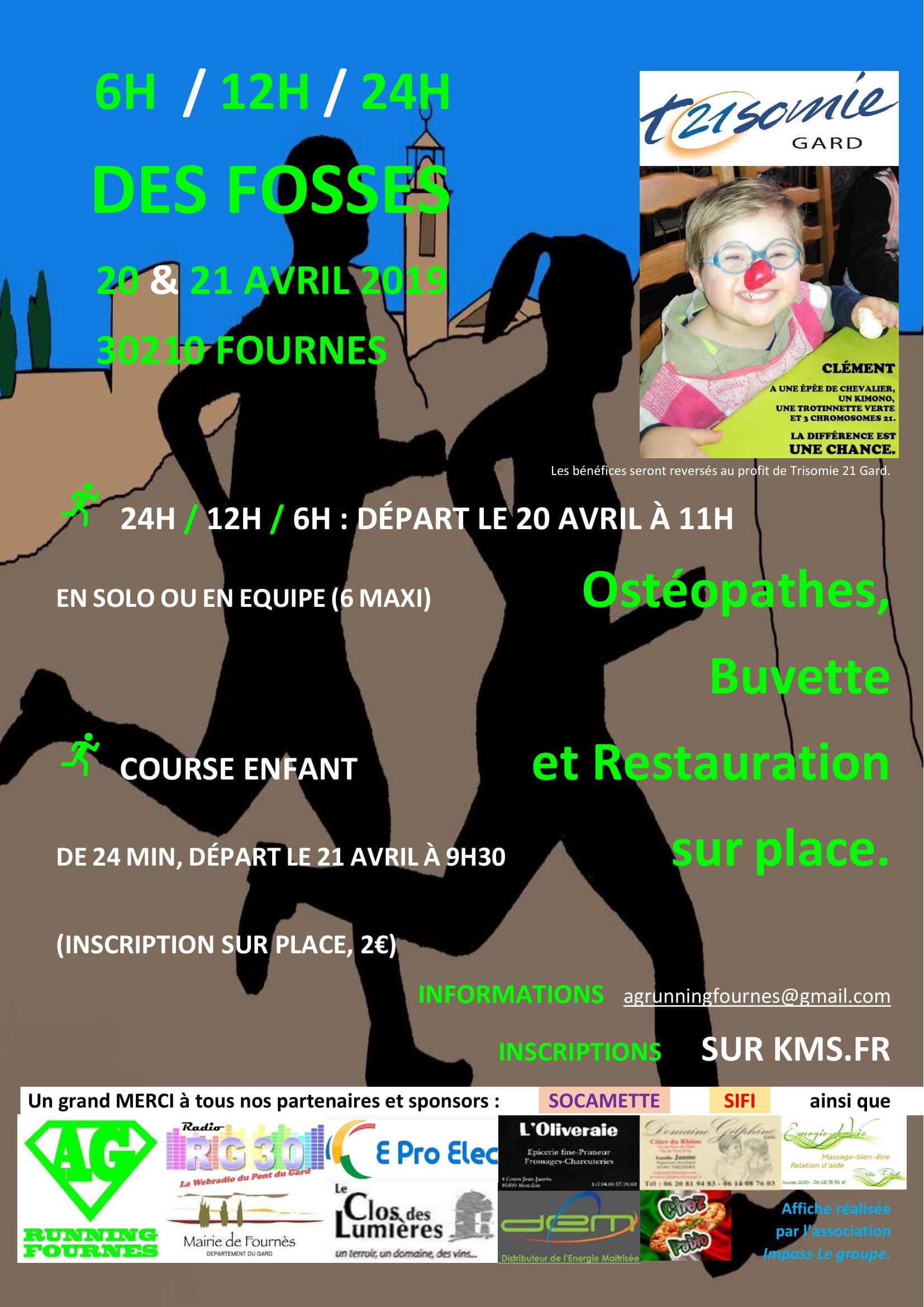 12Hr des Fosses - Equipe (6 maxi)