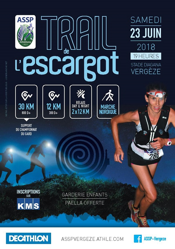 Trail de l'Escargot - Marche nordique 12 km