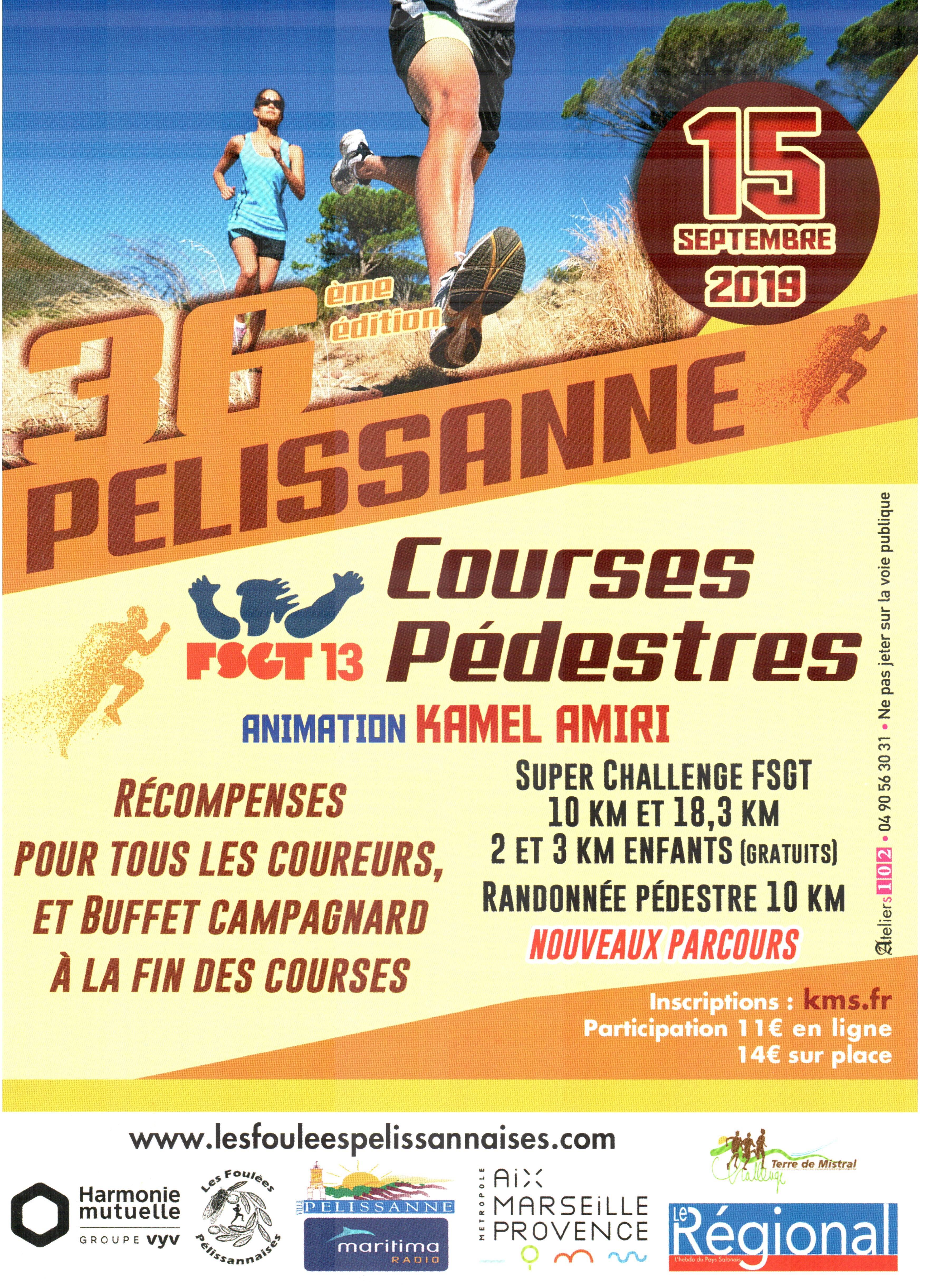Les Foulees Pelissannaises - Randonnée Pédestre 10km