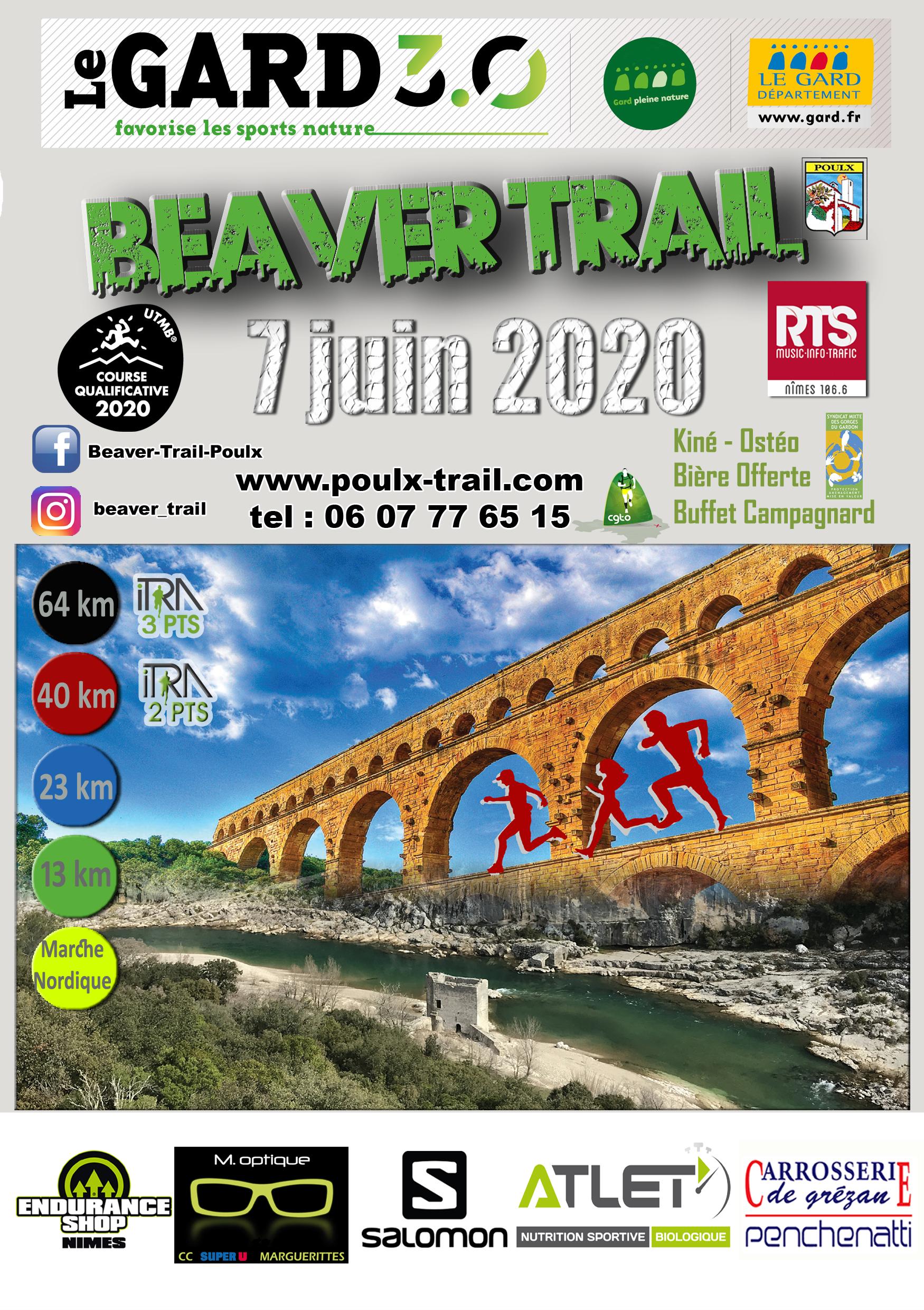 Affiche Beaver Trail Poulx