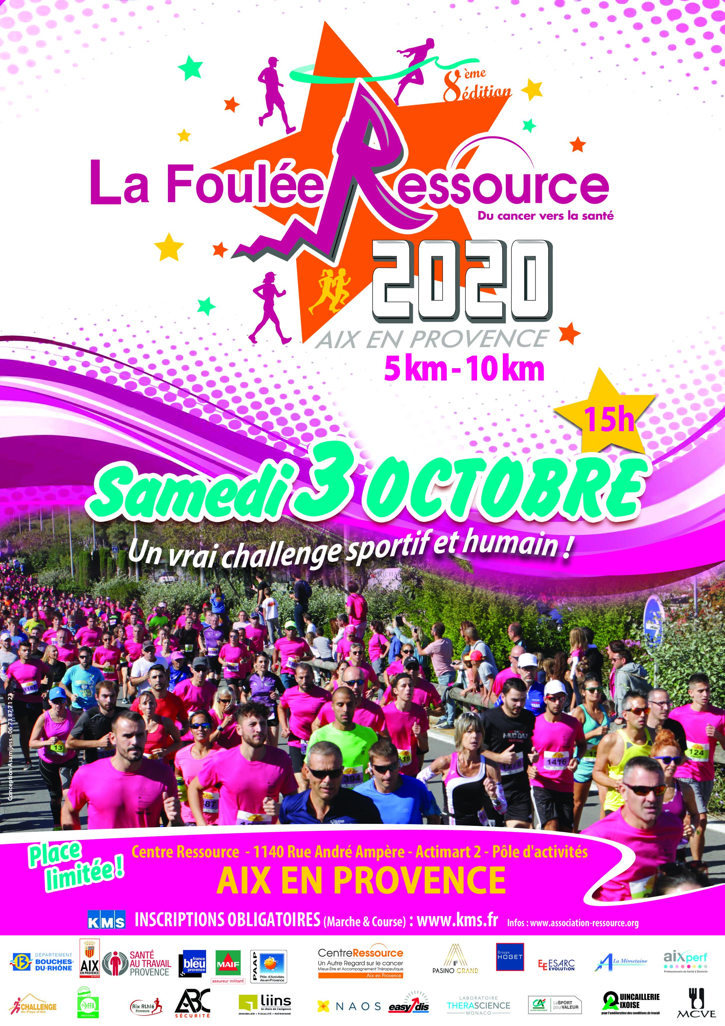Affiche LA FOULEE RESSOURCE