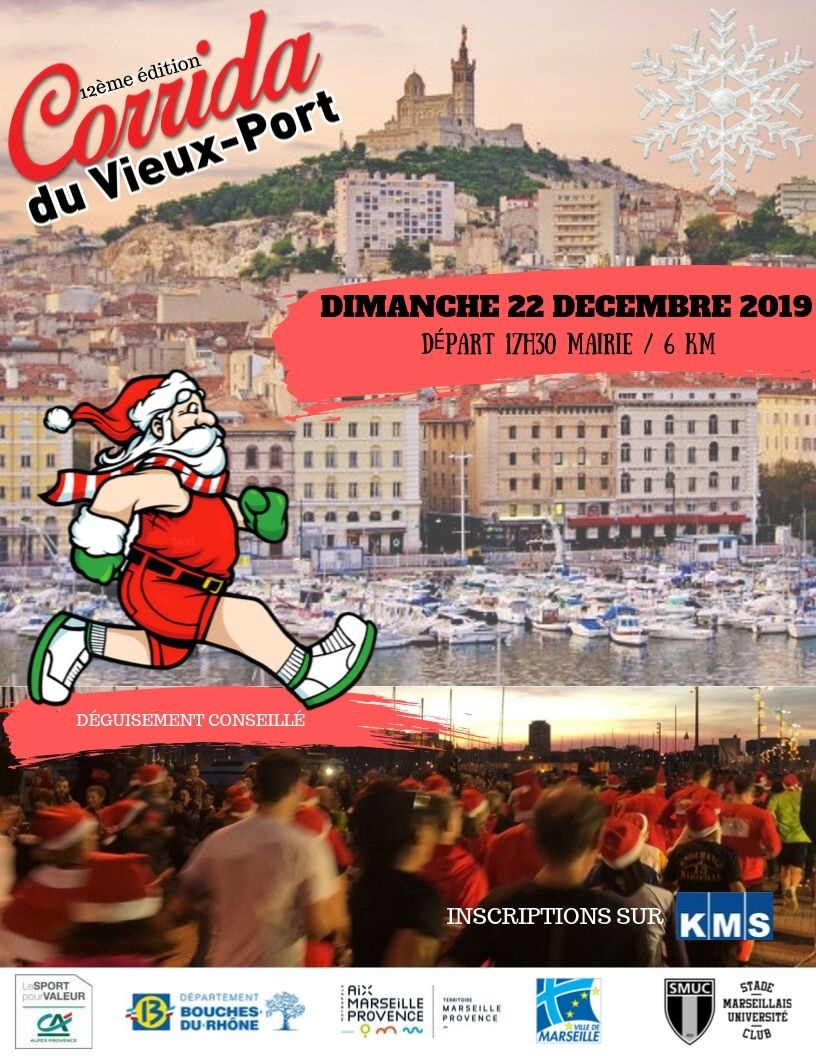 Corrida du Vieux port Marseille 2019