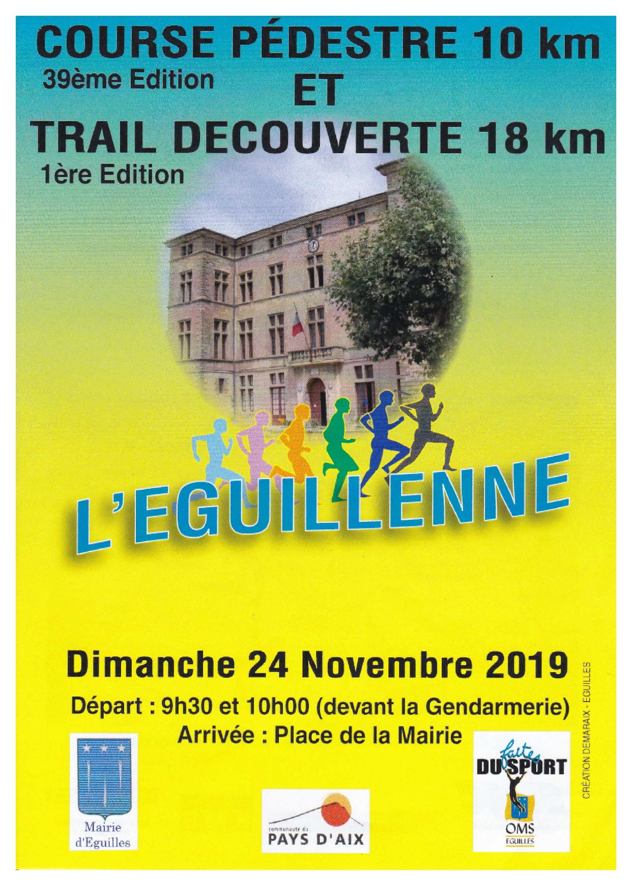 Eguillenne - 18km duo homme/femme