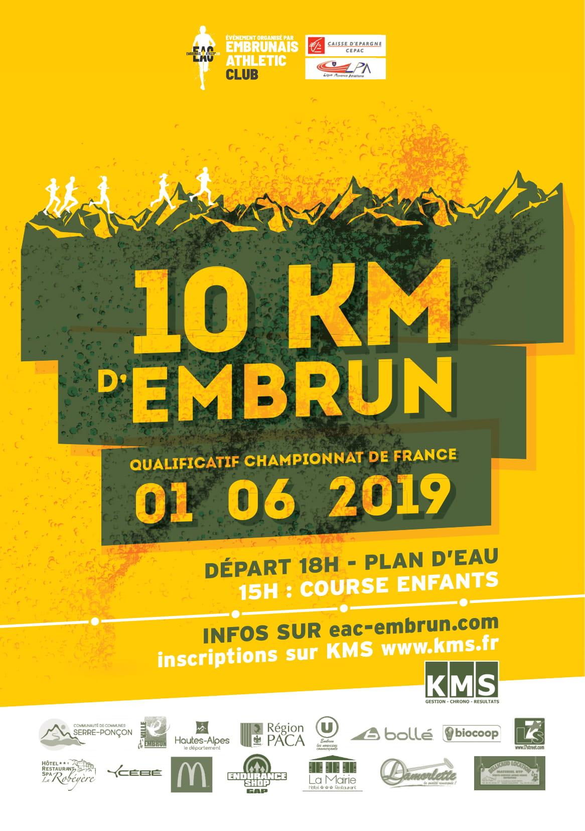10 km Embrun - Challenge equipe trio