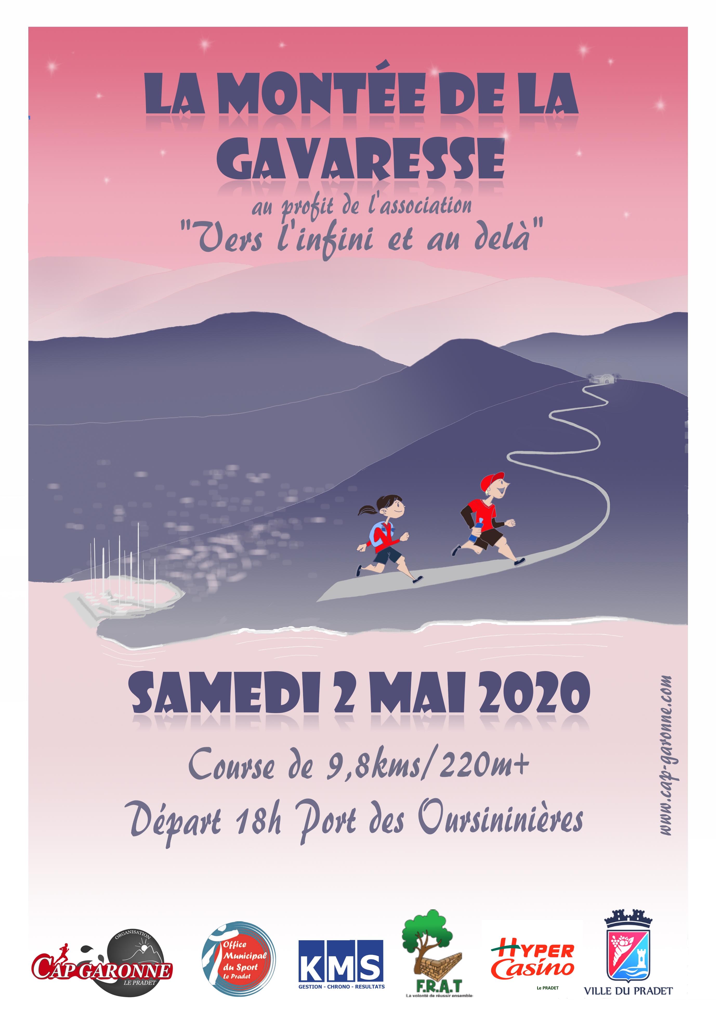 Affiche La Montée de la Gavaresse