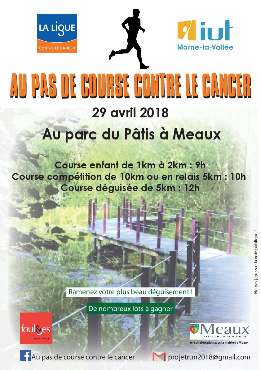 Course contre cancer : 10 km duo