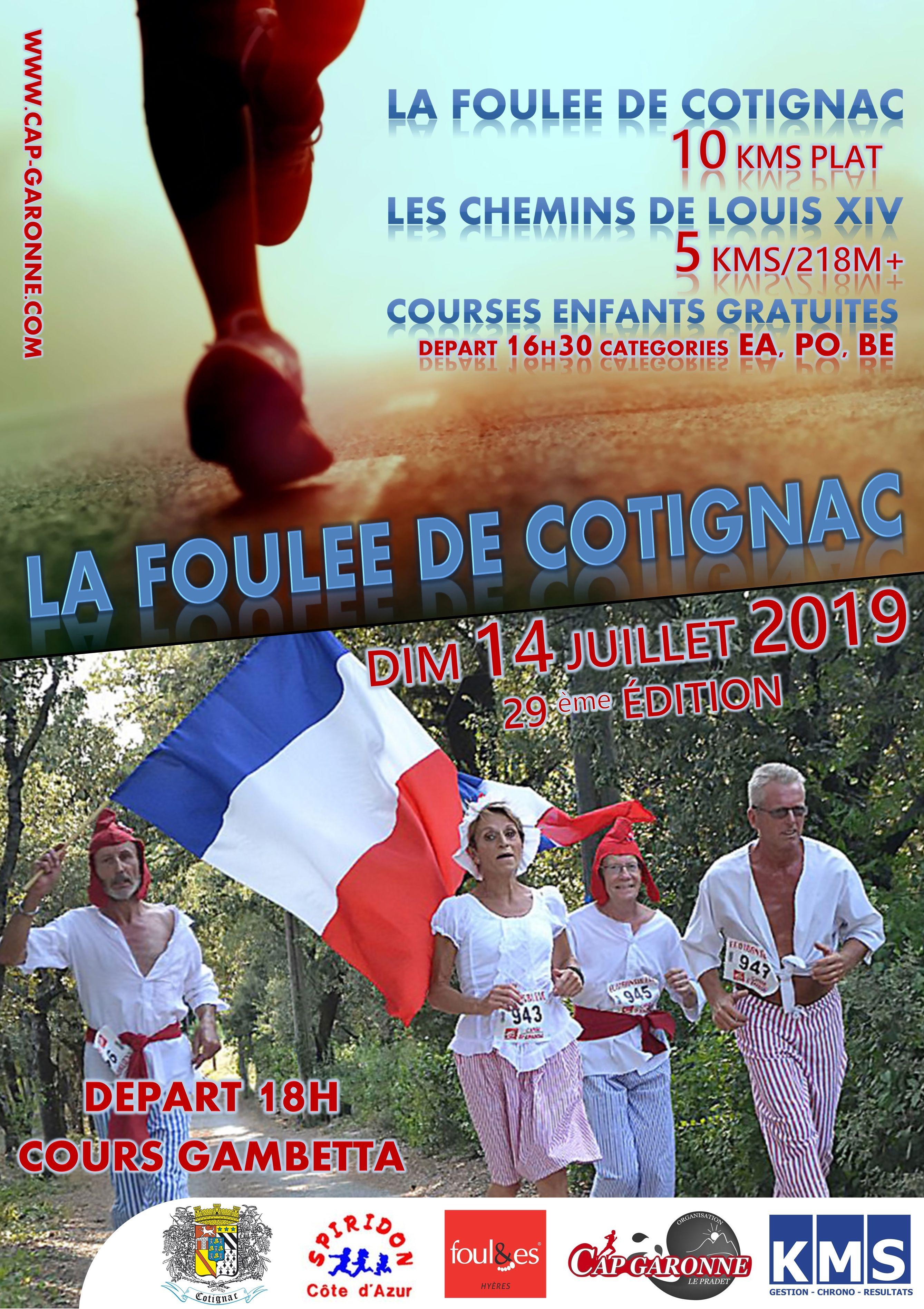 Foulee Cotignac - Les chemins de Louis XIV