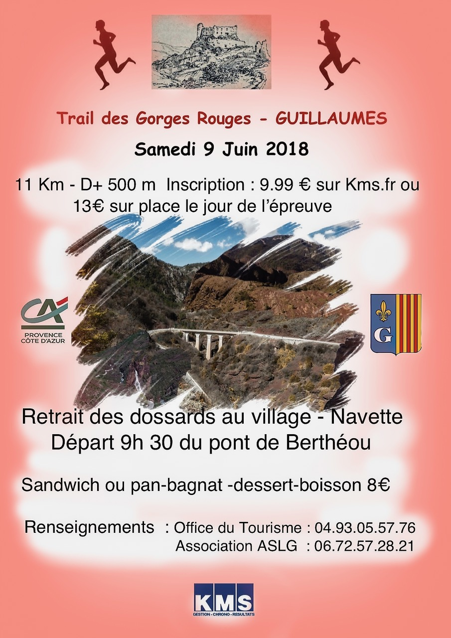 Trail de Guillaumes 11 km