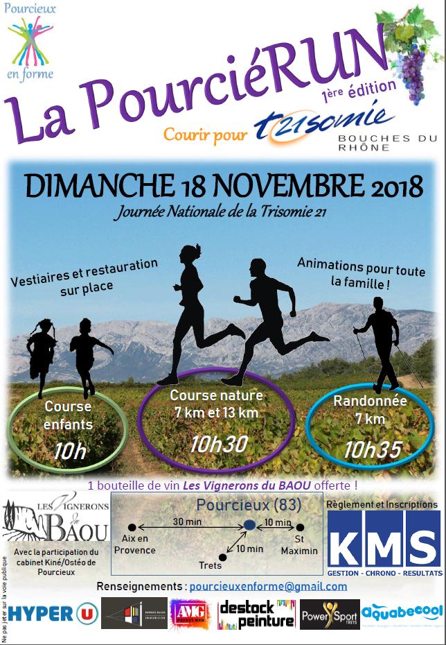 PourcieRUN - Rando 7 km -12ans