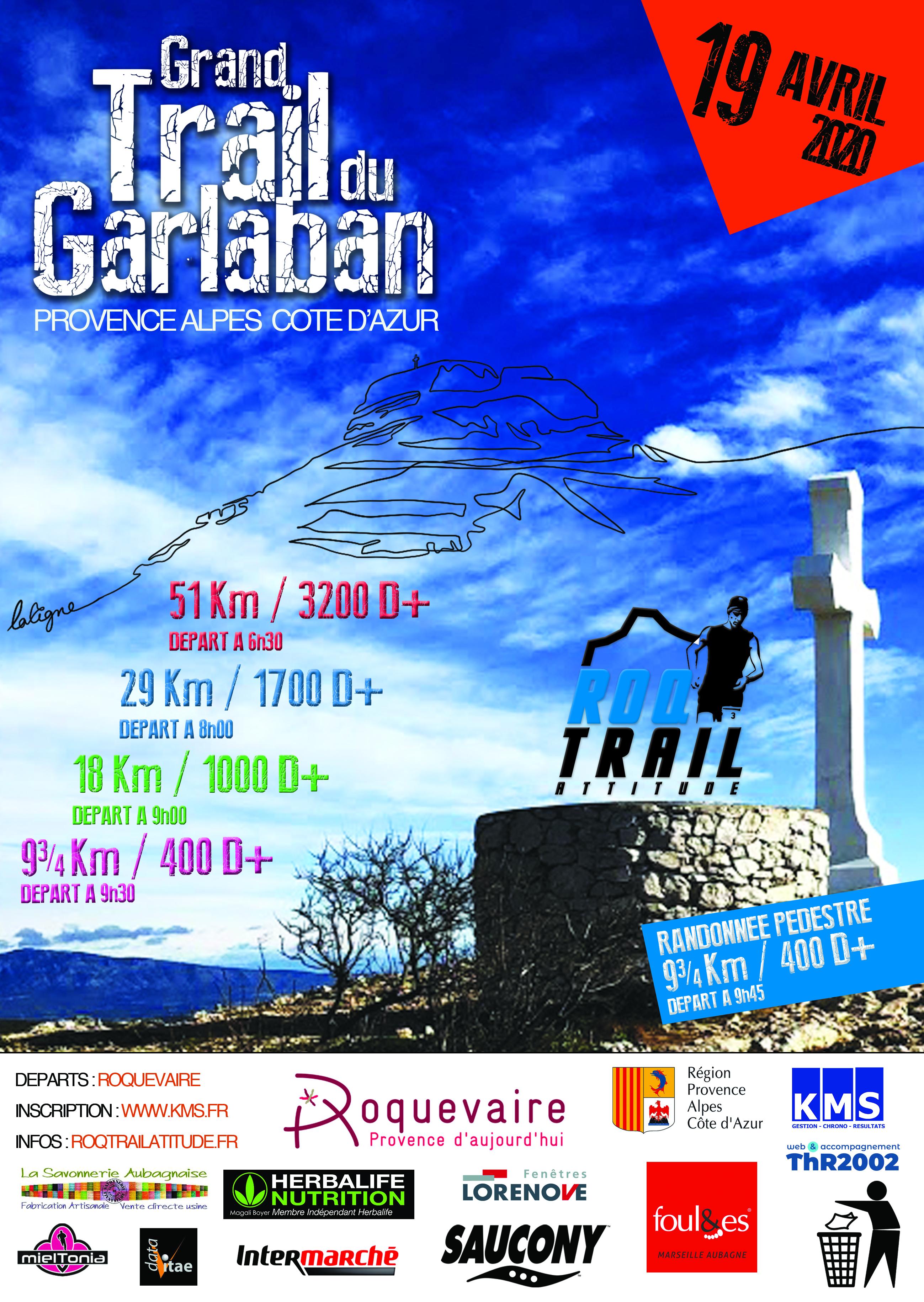 Affiche Grand Trail du Garlaban
