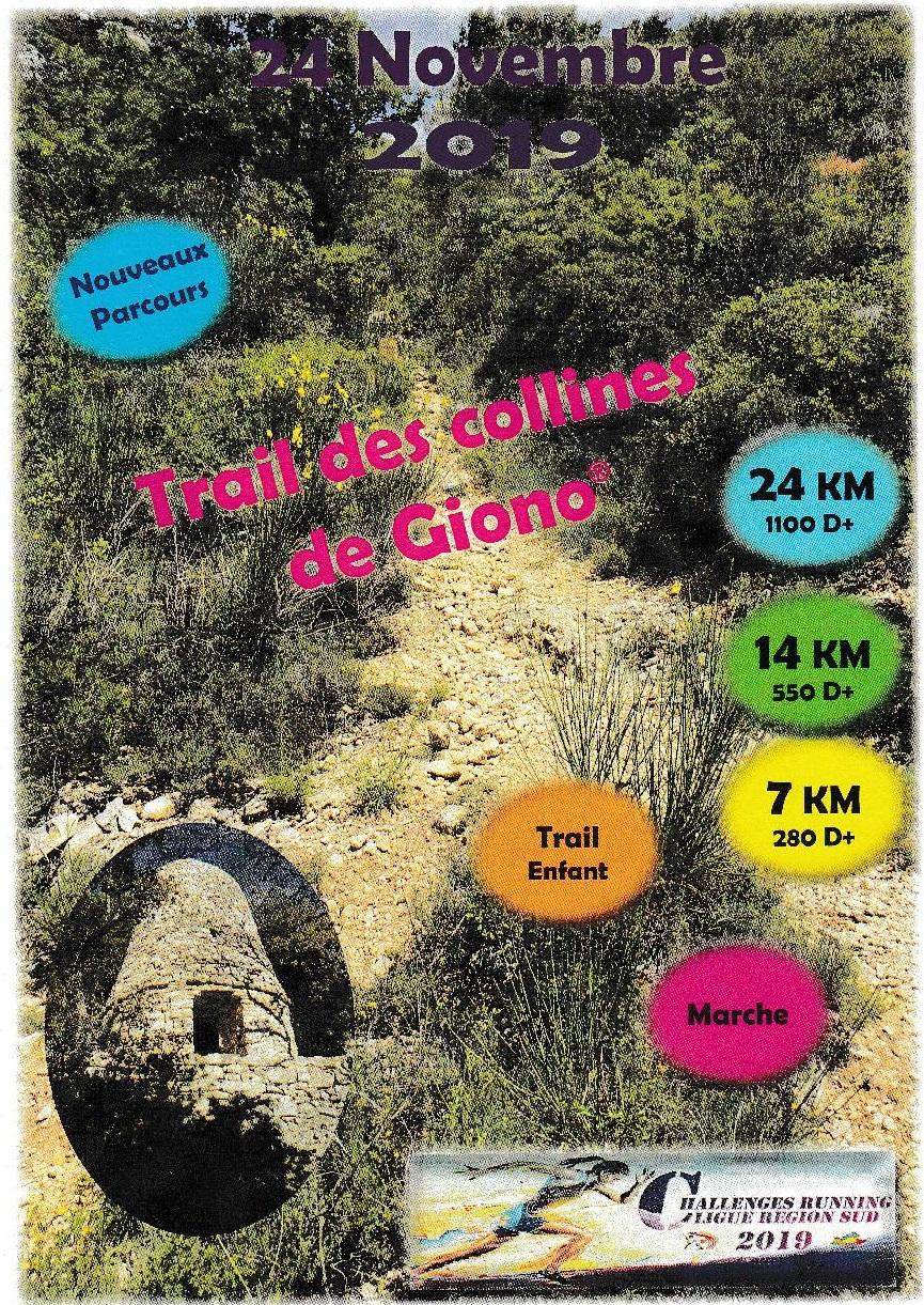 Trail des Collines de Giono - 7 km