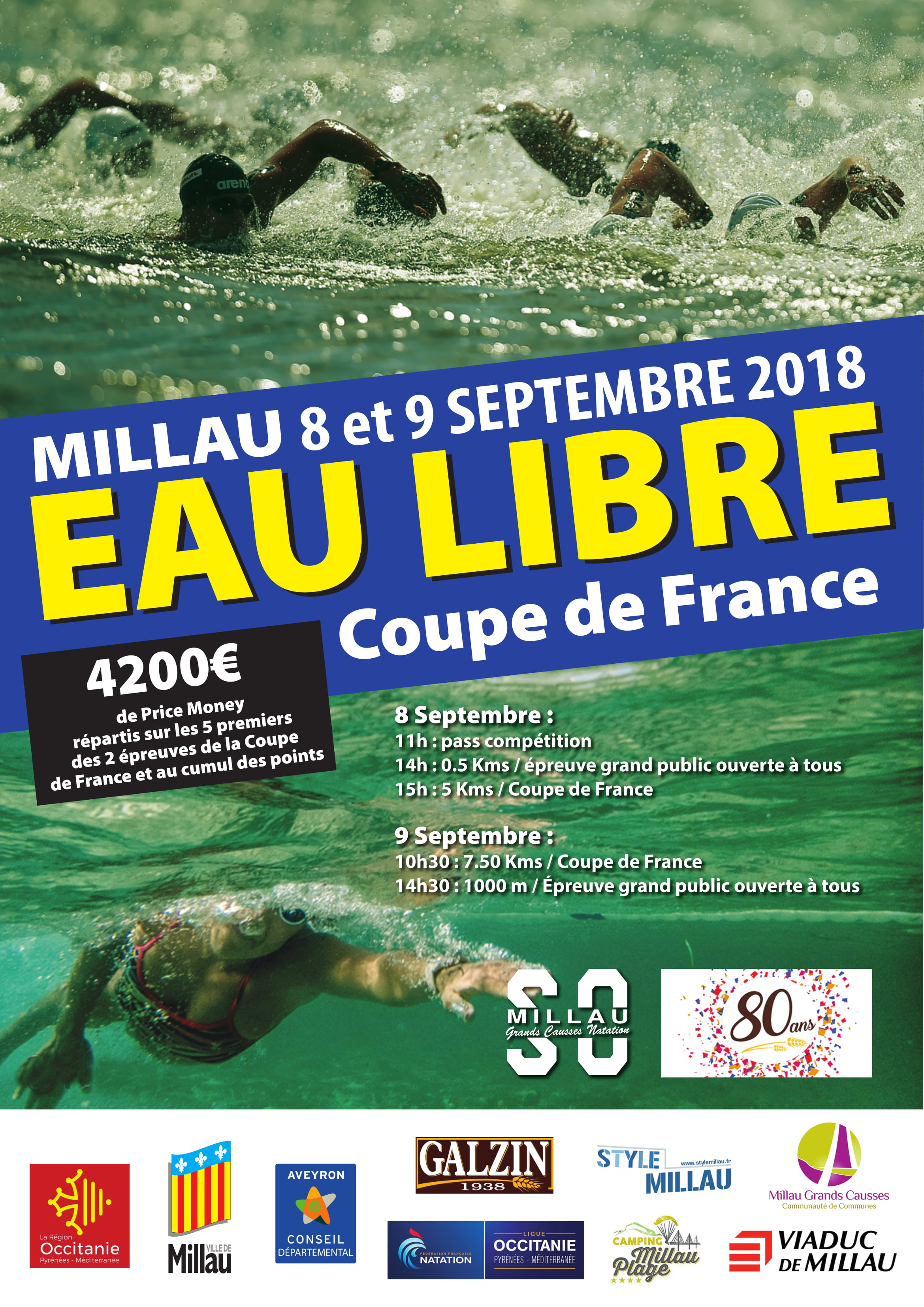 1KM Coupe de France Millau