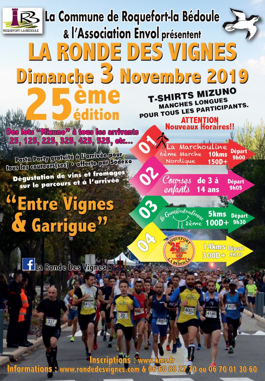 Ronde des vignes - LA GAMBADOULENNE 5KM