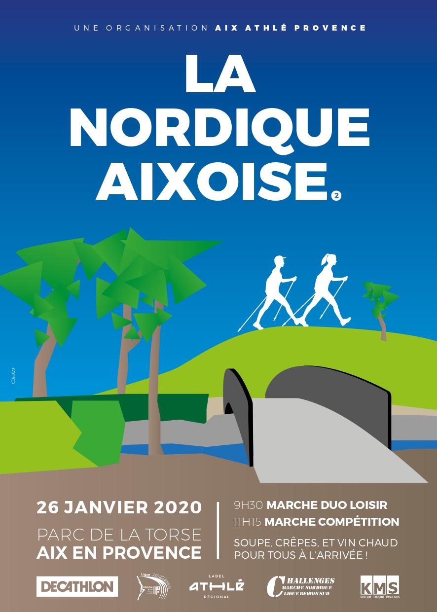 Nordique Aixoise Solo - Femme