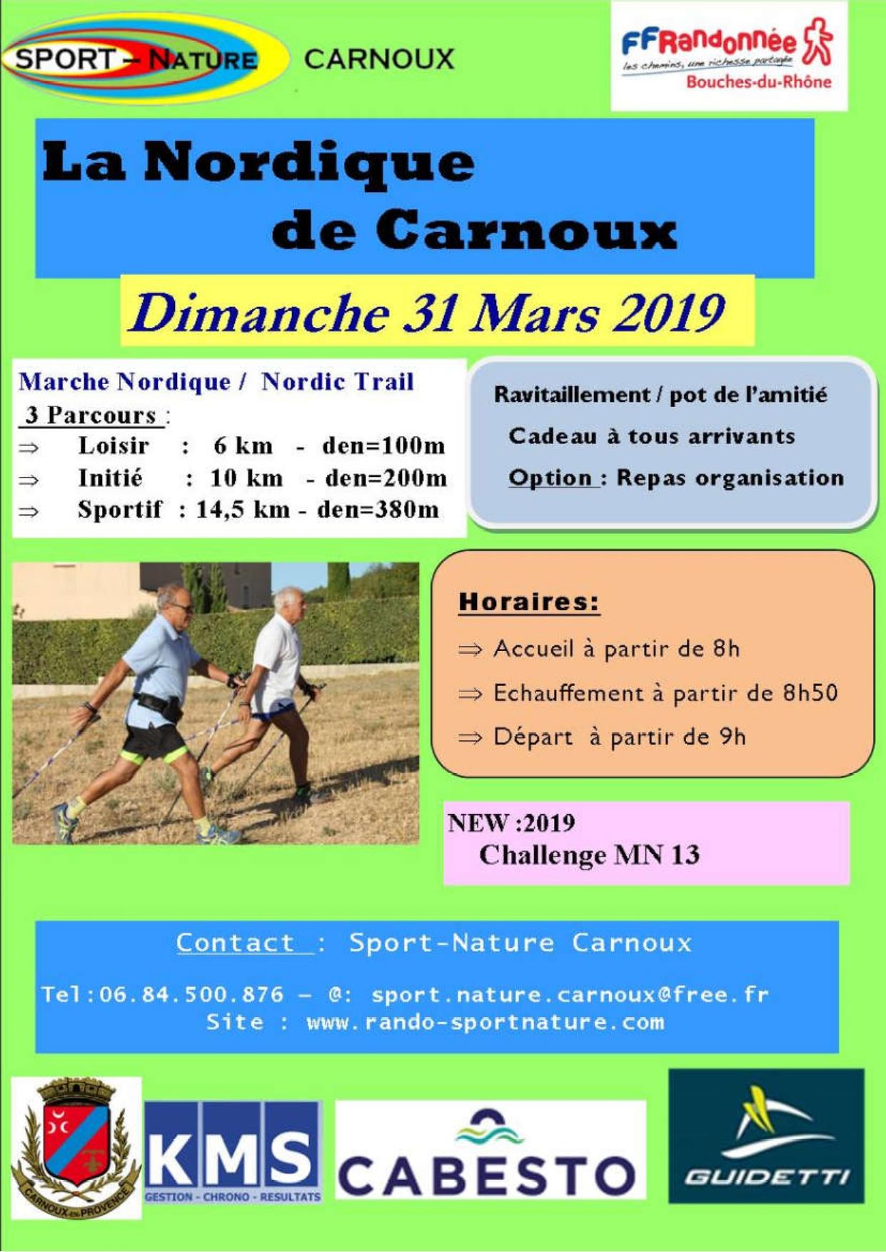 10KM - Nordique de Carnoux