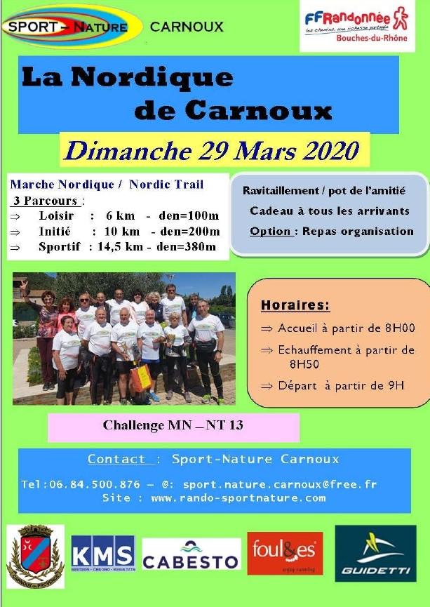 Affiche La NORDIQUE de CARNOUX