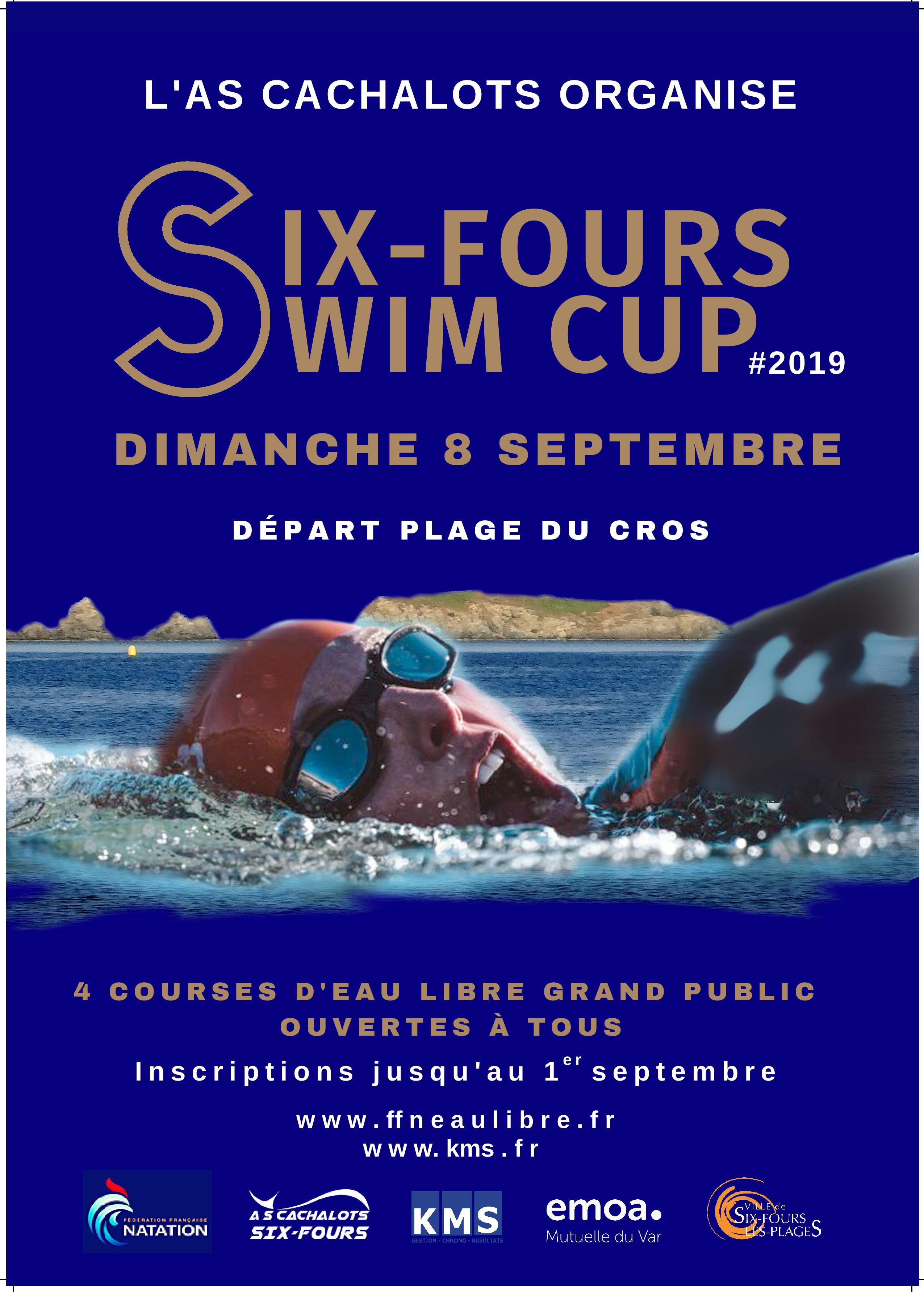 3KM - SIX FOURS SWIM CUP : Palmes