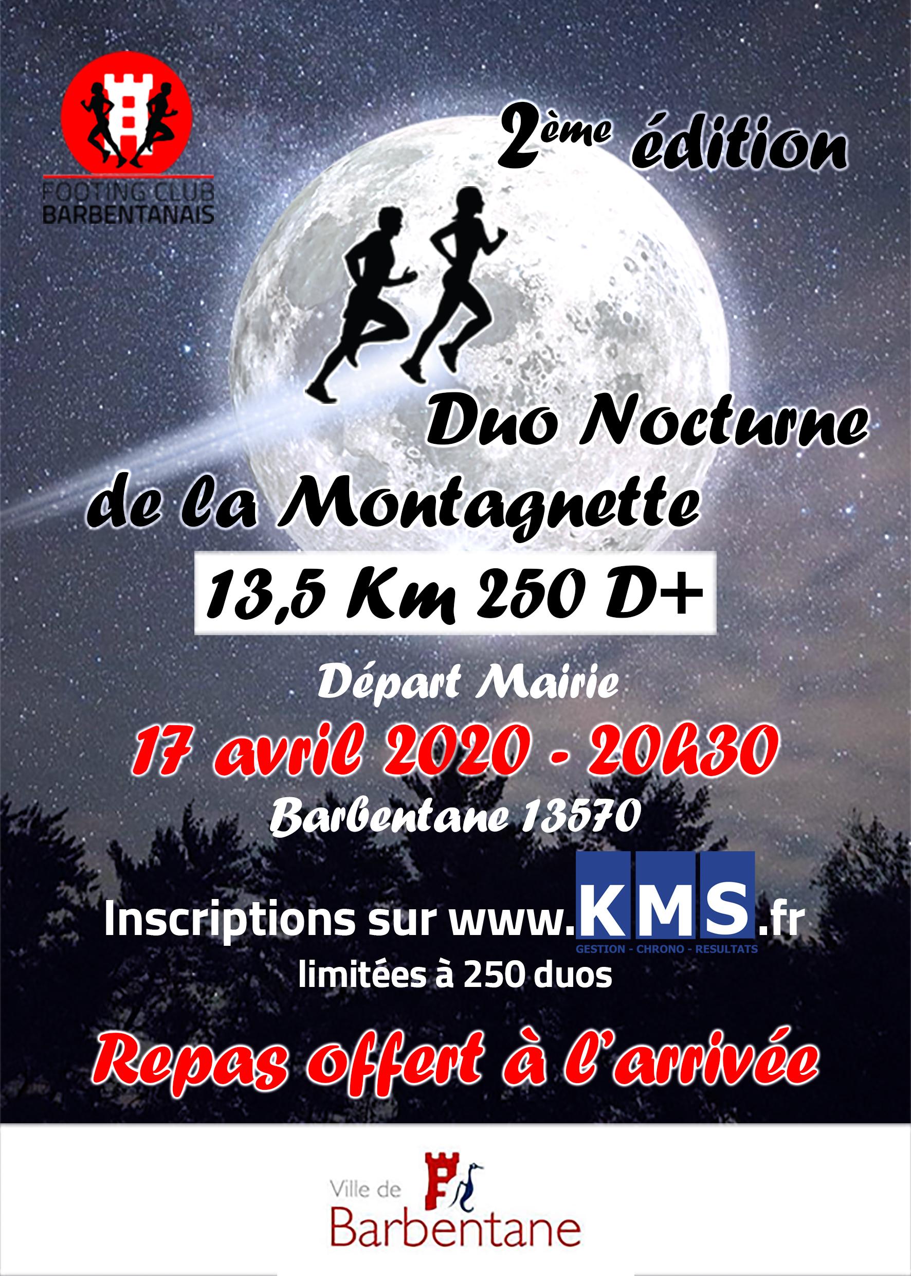 Affiche DUO NOCTURNE de LA MONTAGNETTE