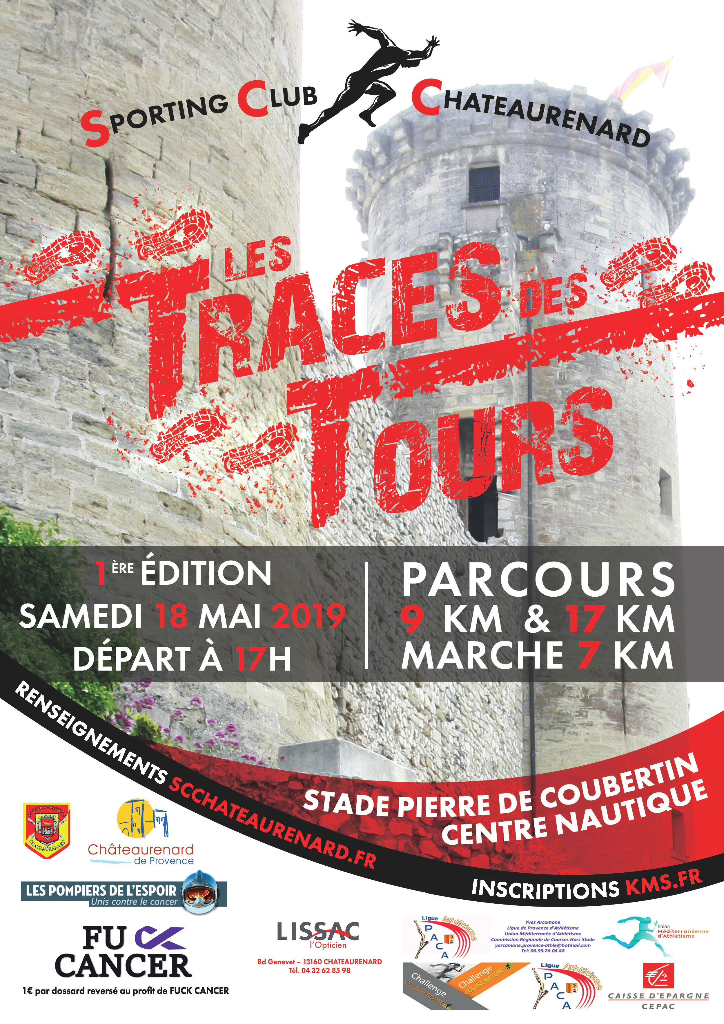 MARCHE 7KM - LES TRACES DES TOURS