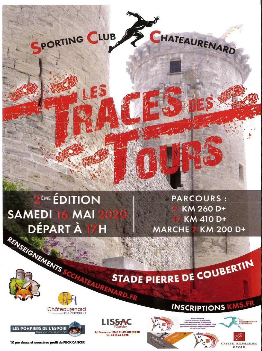 Affiche LES TRACE DES TOURS