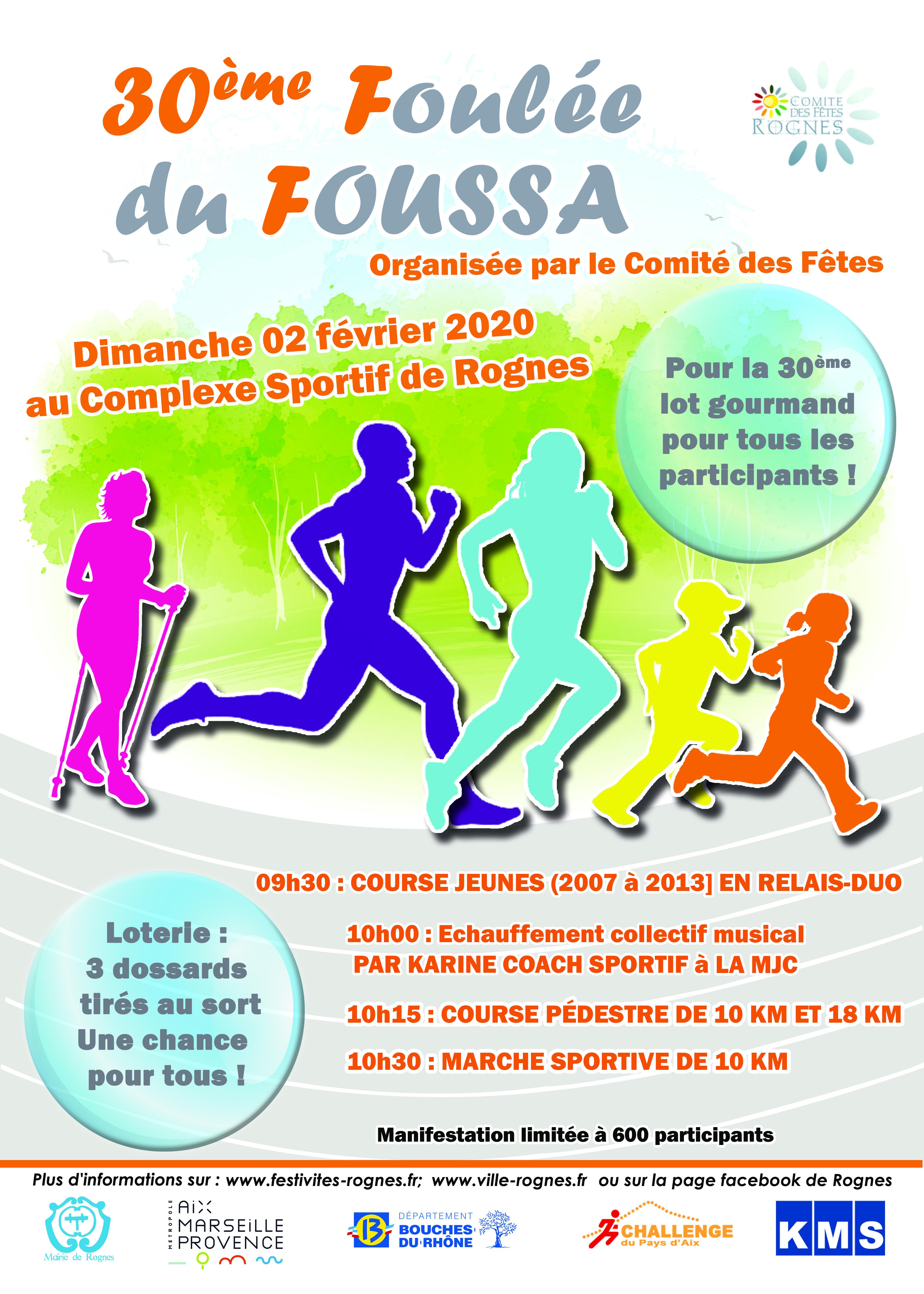Foulee du Foussa - Marche Sportive 10km sportive