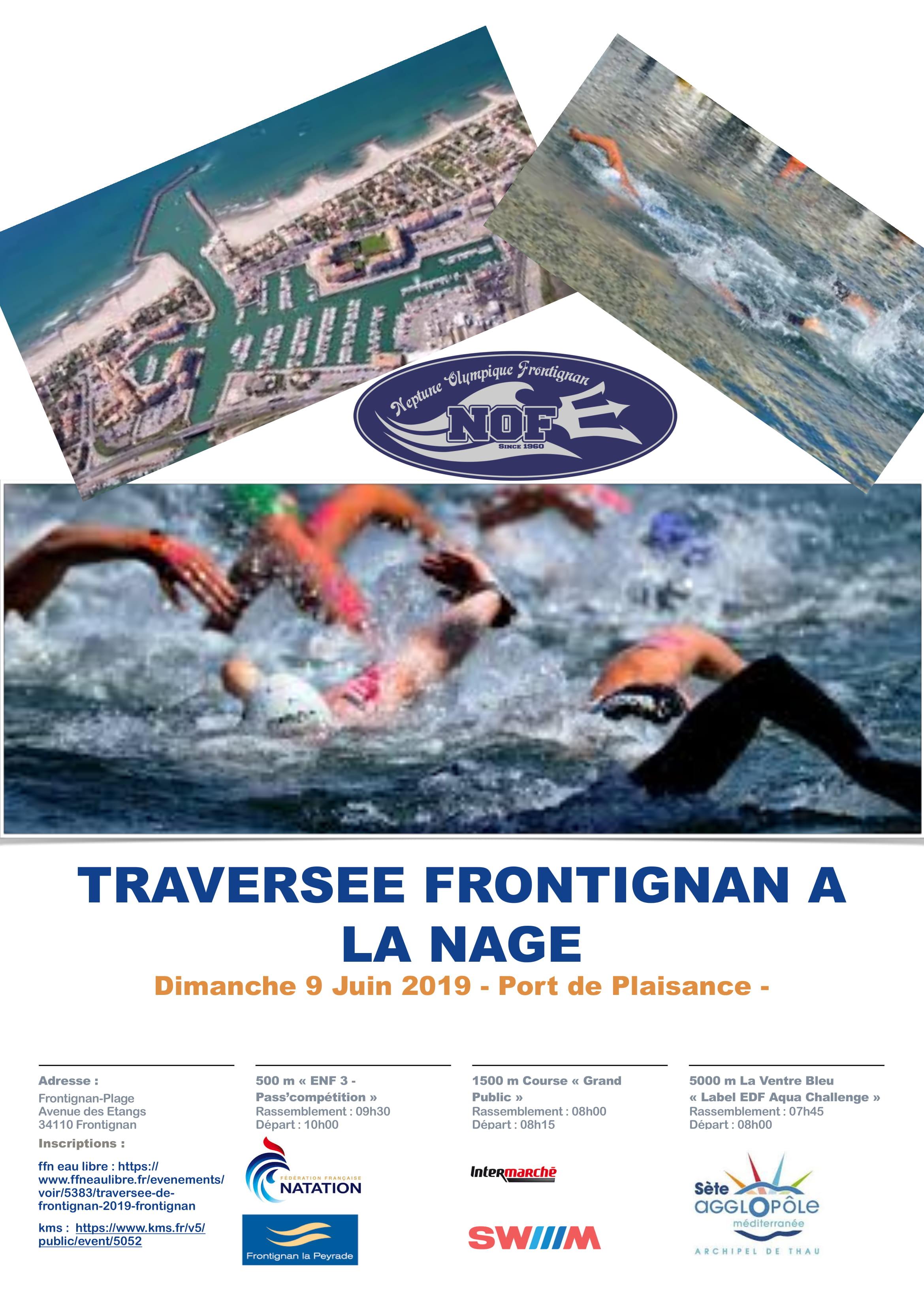 Traversee de Frontignan 5 000m
