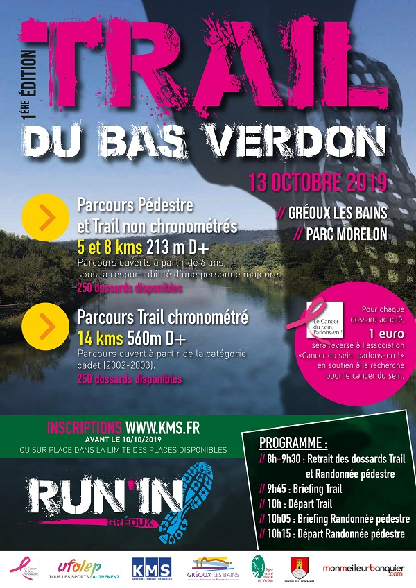 Trail Bas Verdon - Trail non chrono 8km