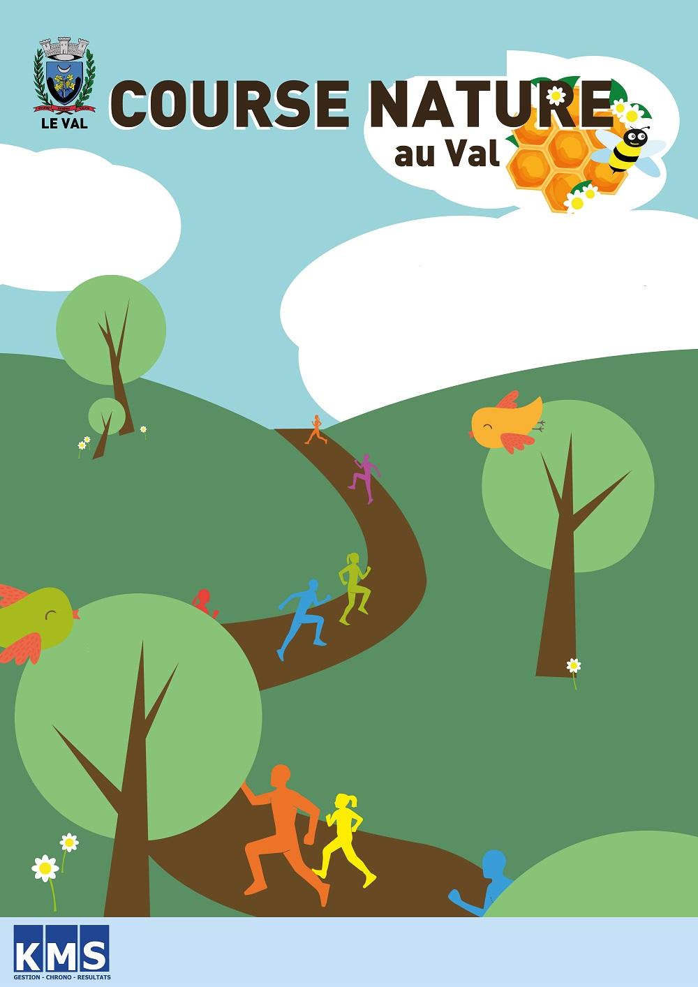 Affiche Course NATURE LE VAL