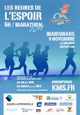 Heures de l'espoir : le Marathon en relais (equipe de 2 à 6 personnes)