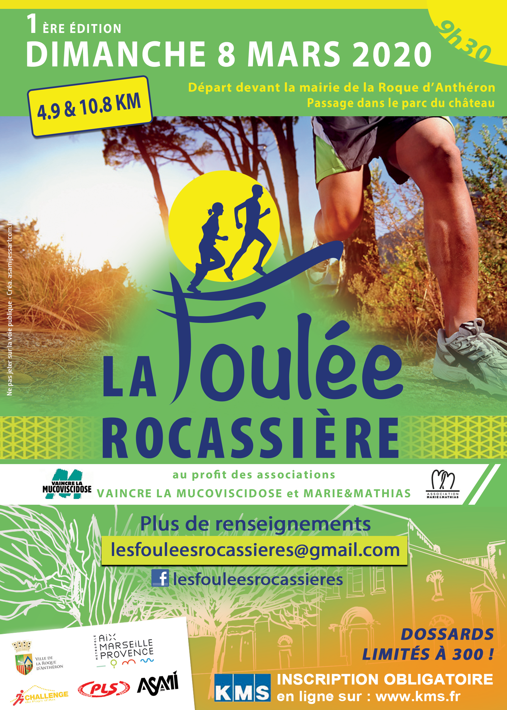 Foulee Rocassiere : 4,9 Km