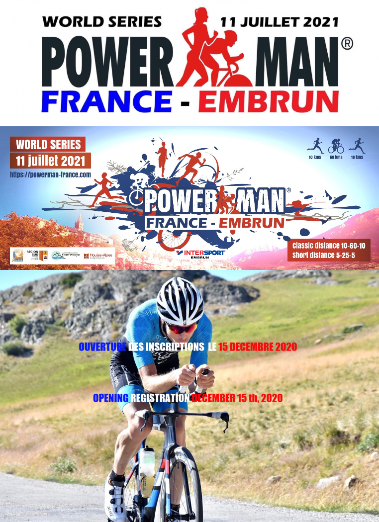 Affiche Powerman:FRANCE-Embrun